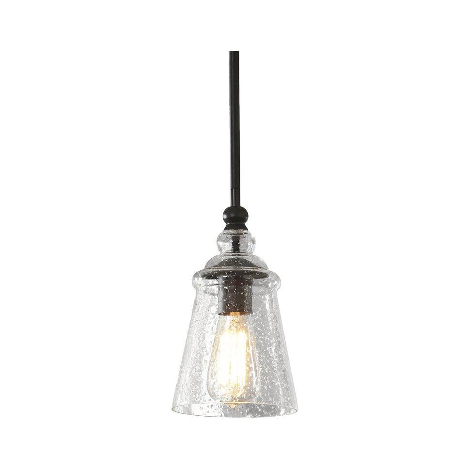 Sargent 1-Light Bell Pendant | Pendant Lights | Pendant in Abordale 1-Light Single Dome Pendants (Image 28 of 30)