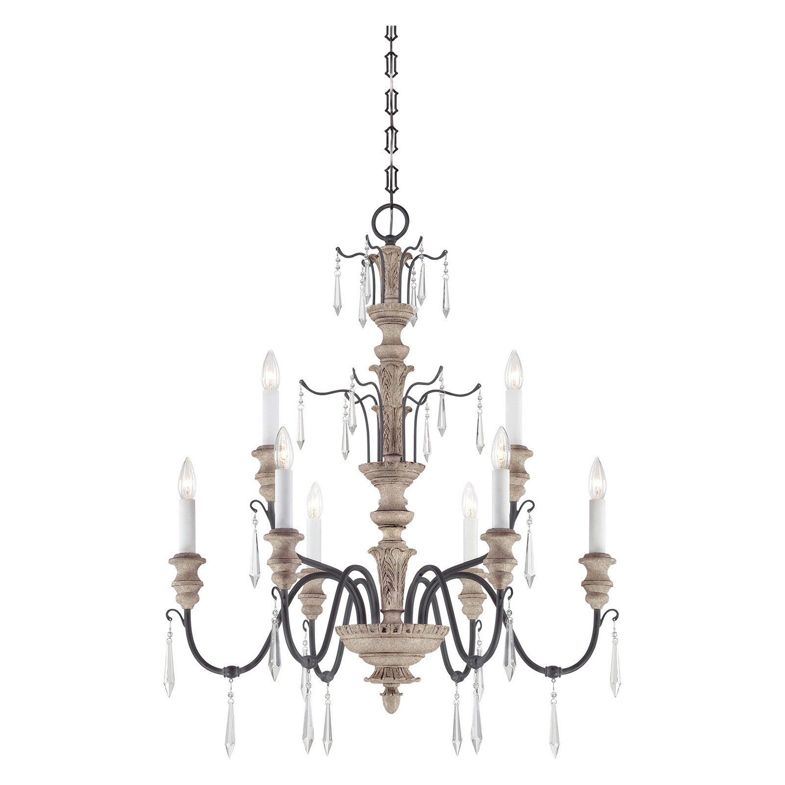 Savoy House Madeliane 1 4341 6 192 Chandelier | Products In With Regard To Bouchette Traditional 6 Light Candle Style Chandeliers (View 9 of 30)