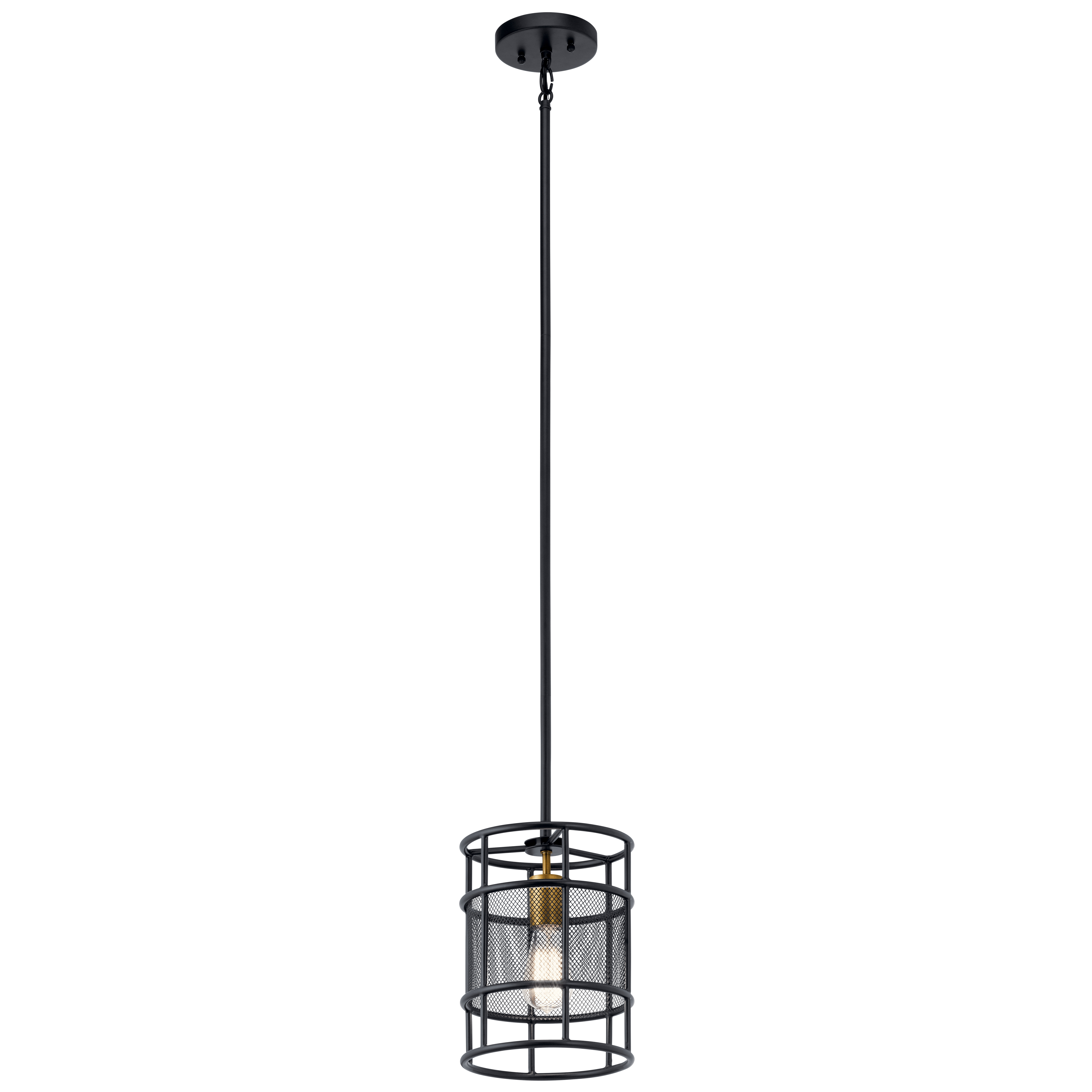 Sayers 1 Light Cylinder Pendant Within Barrons 1 Light Single Cylinder Pendants (View 13 of 30)