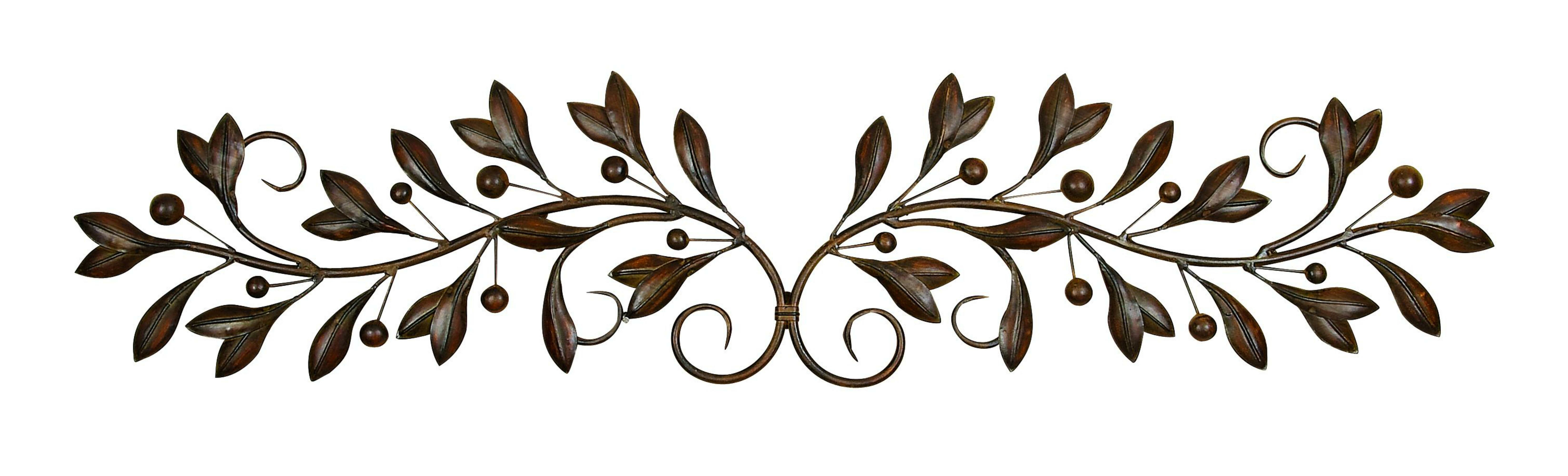 Scroll Framed Wall Décor Pertaining To Scroll Leaf Wall Decor (View 23 of 30)