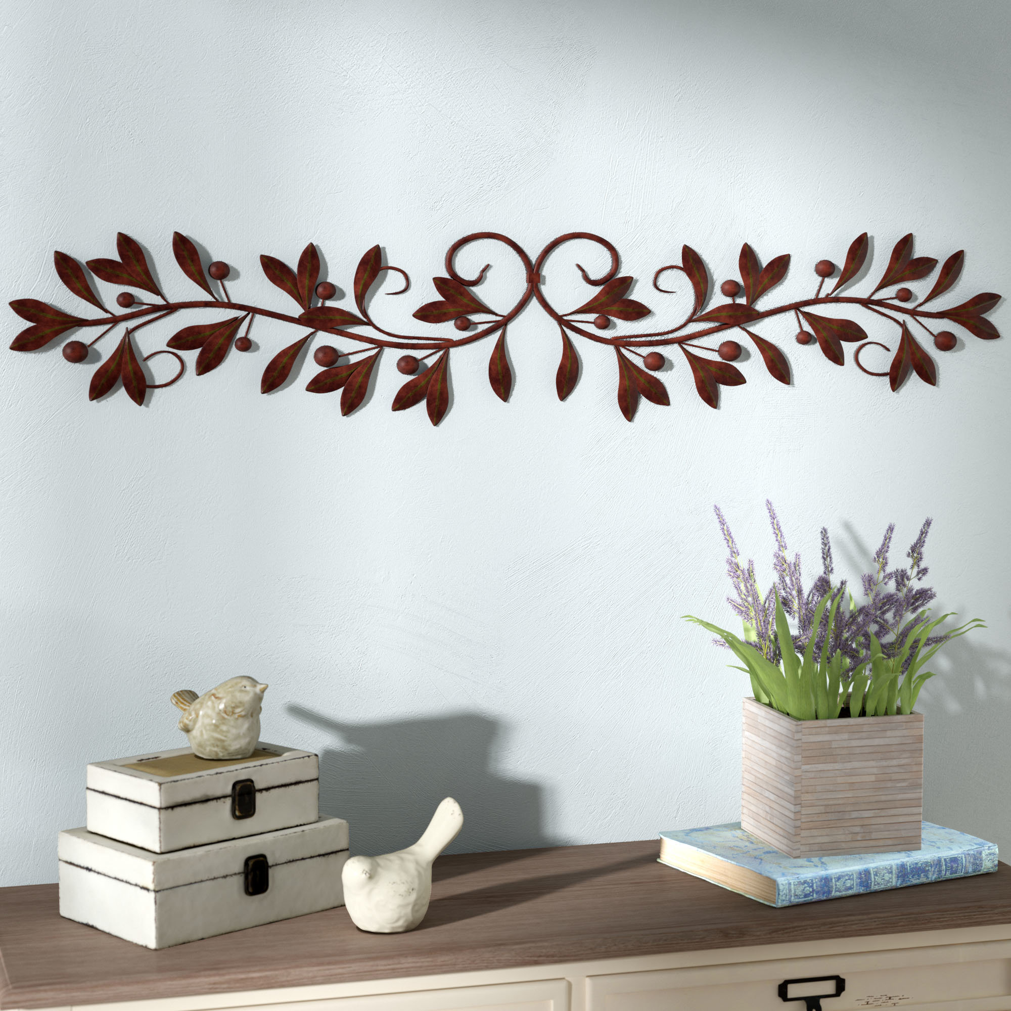 Scroll Framed Wall Décor with Scroll Framed Wall Decor (Image 24 of 30)