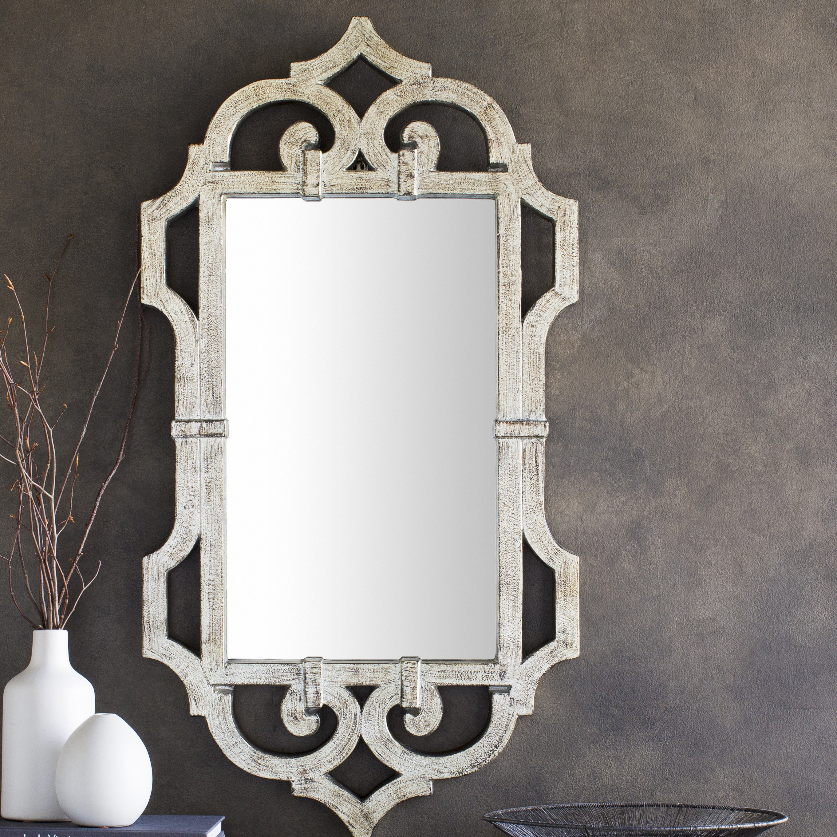 Scroll Mirror | Wayfair intended for Boyers Wall Mirrors (Image 28 of 30)