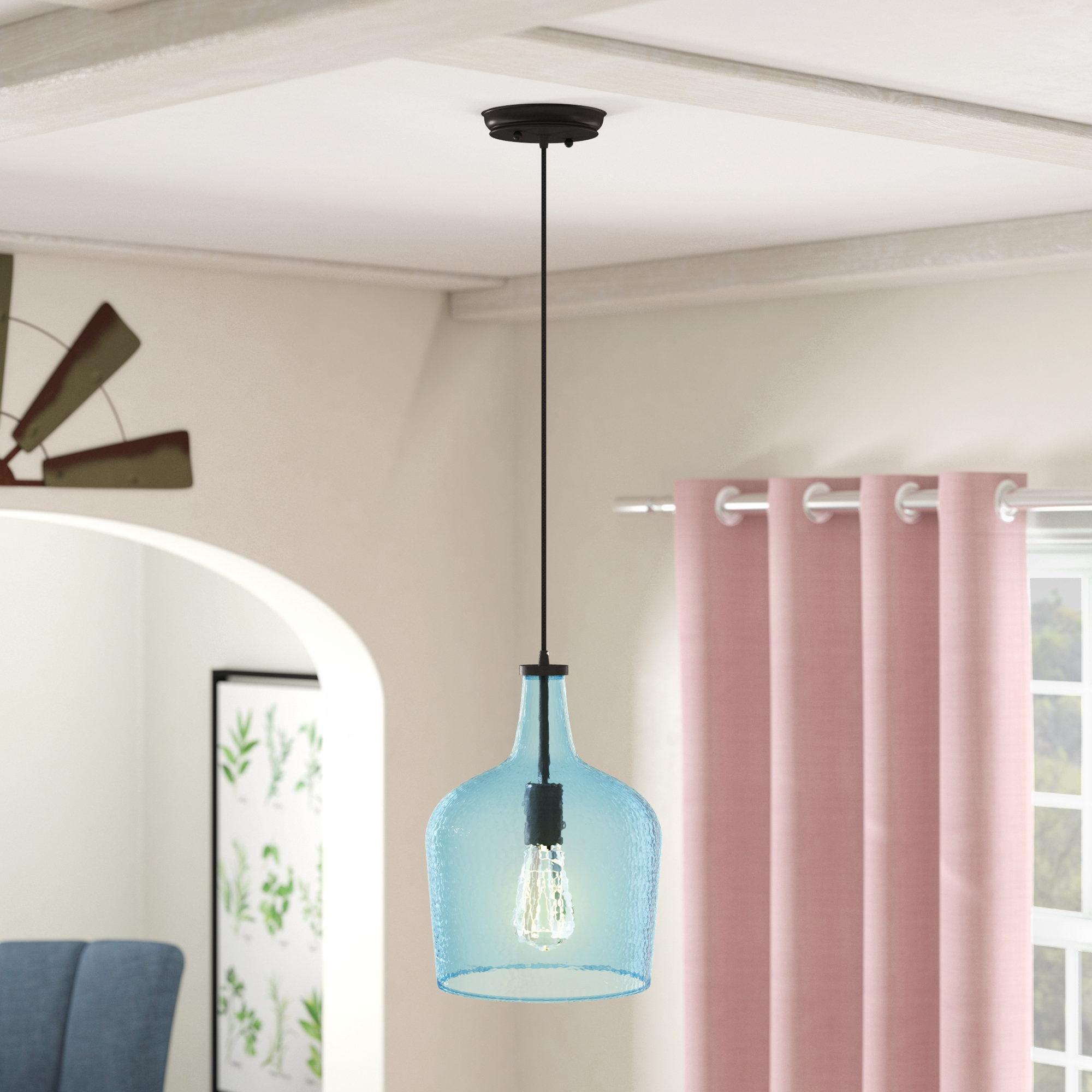Scruggs 1 Light Single Bell Pendant Within 1 Light Single Bell Pendants (View 24 of 30)