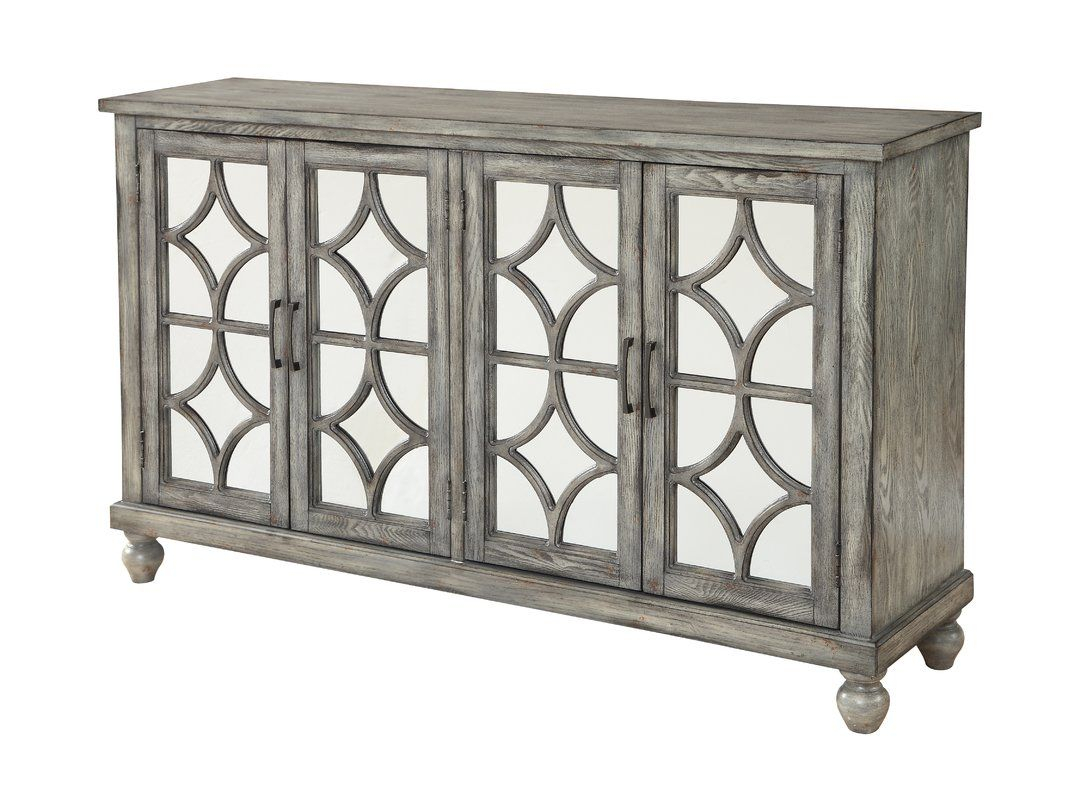 Serafino Media Credenza With Regard To Elyza Credenzas (View 24 of 30)