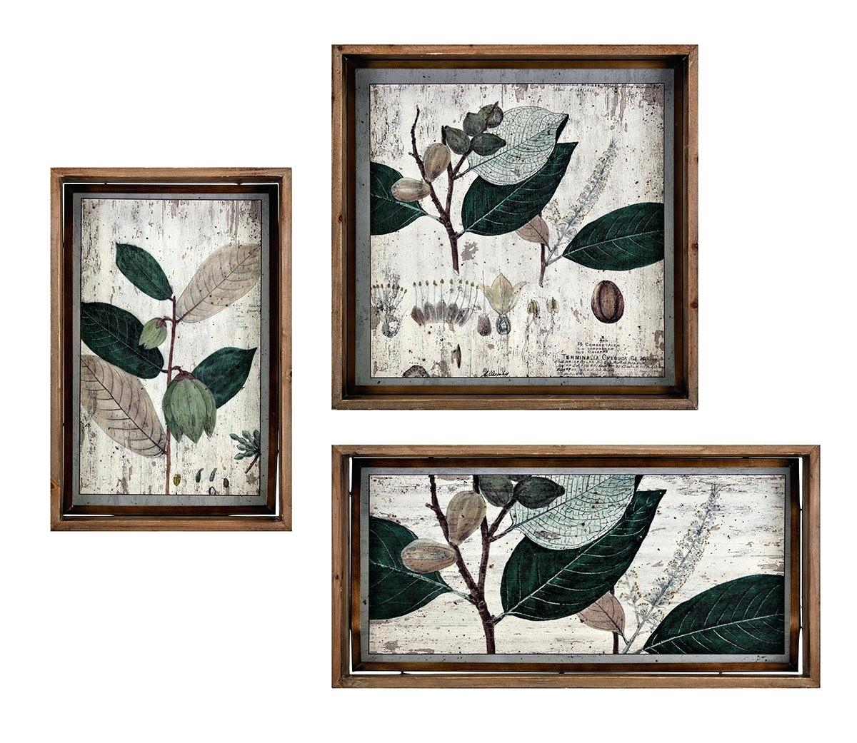 Set Of 3 Wall Decor – Suluhindonesia (View 20 of 30)