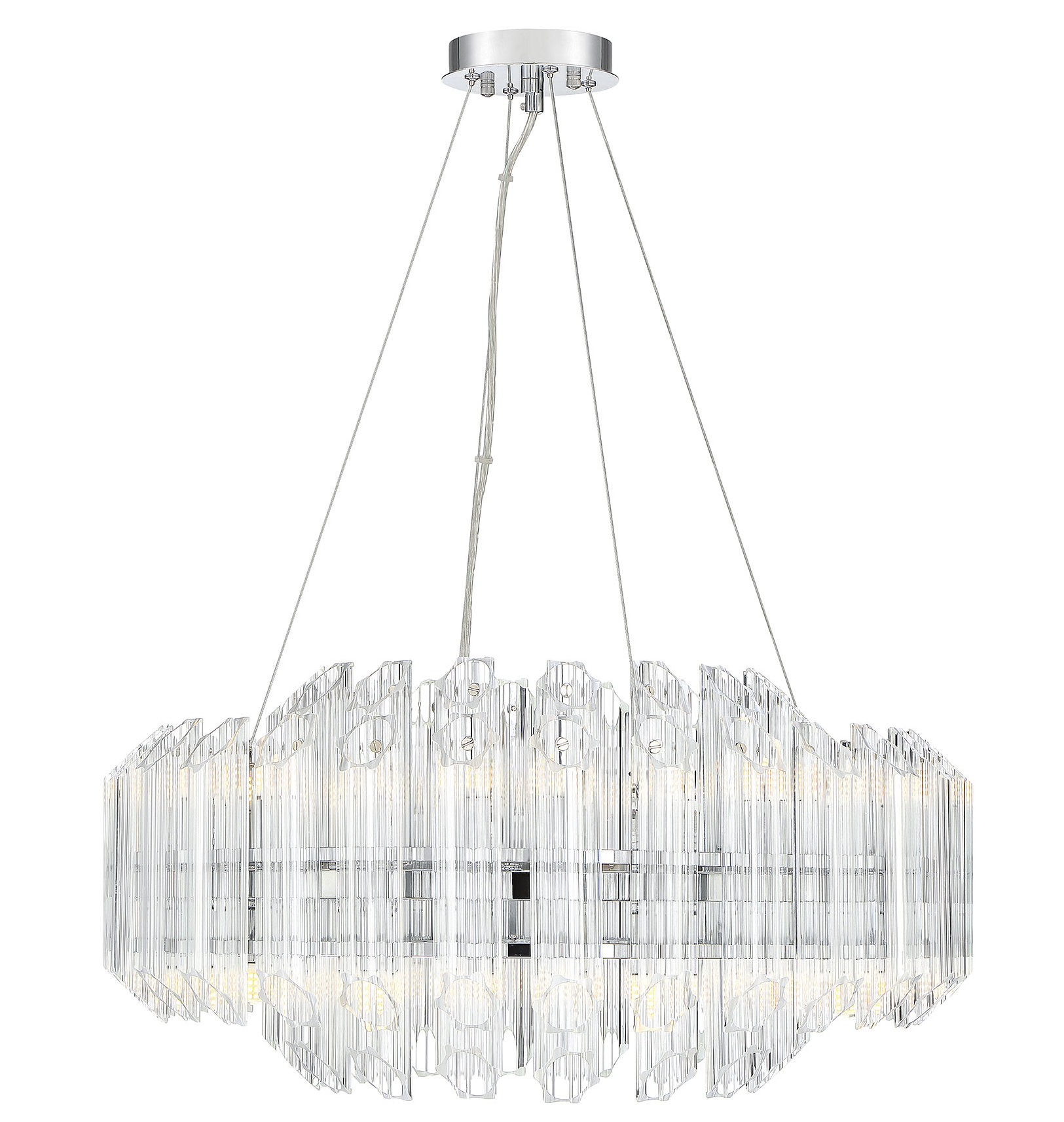Seymour 16 Light Crystal Chandelier In Benedetto 5 Light Crystal Chandeliers (View 12 of 30)