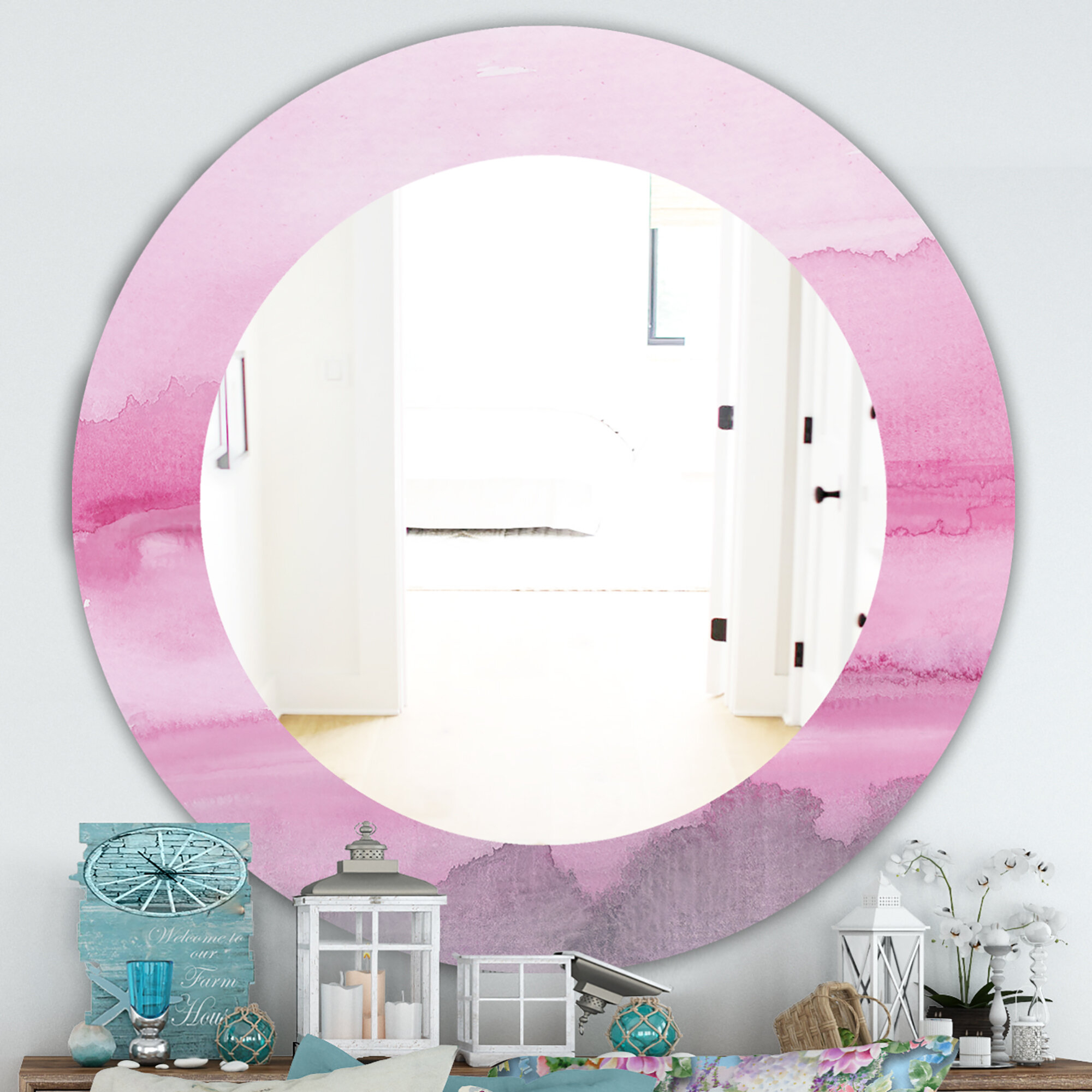 Shabby Elegance Mirror | Wayfair Regarding Epinal Shabby Elegance Wall Mirrors (View 5 of 30)