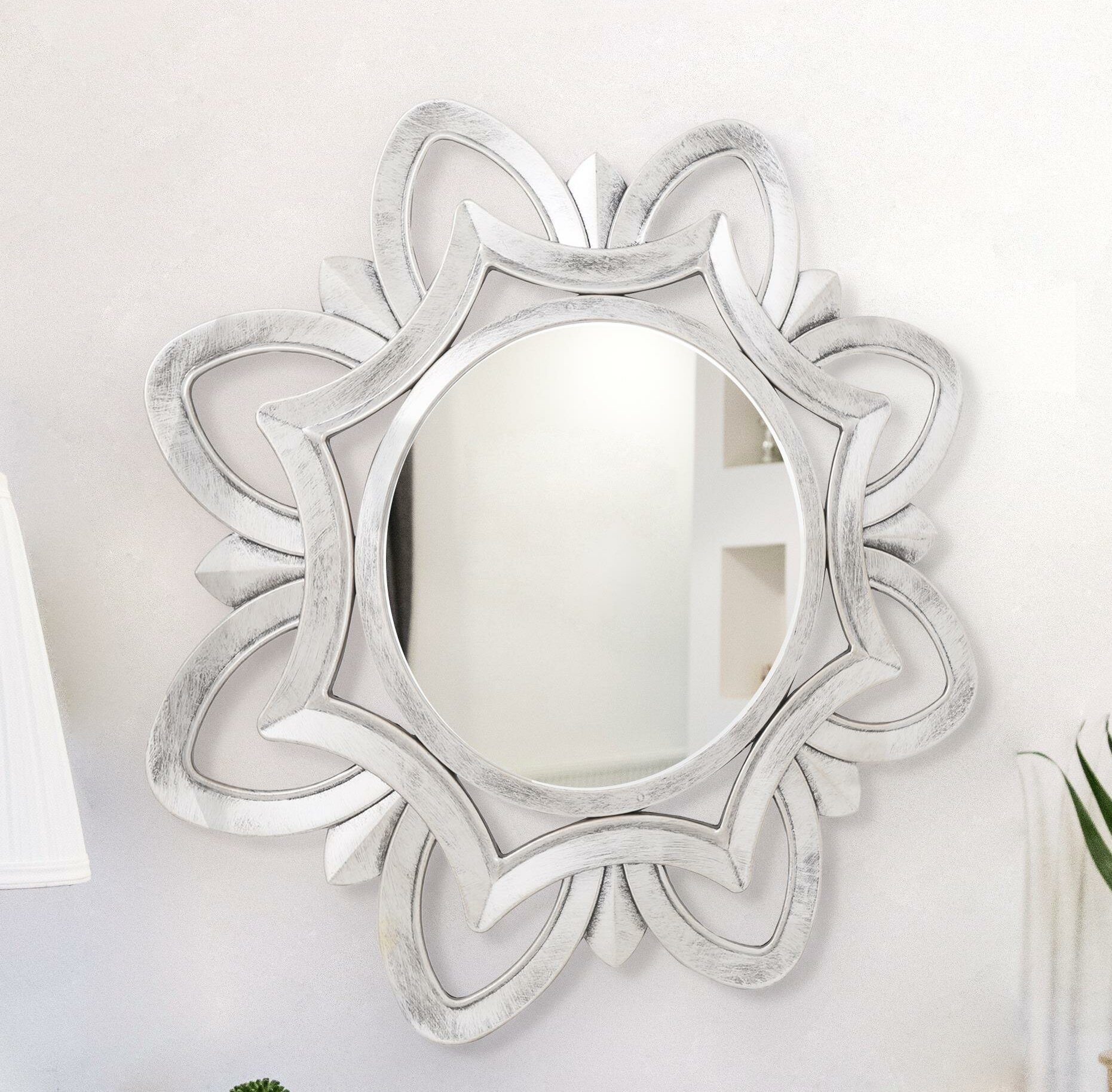 Shabby Elegance Mirror | Wayfair With Epinal Shabby Elegance Wall Mirrors (View 23 of 30)