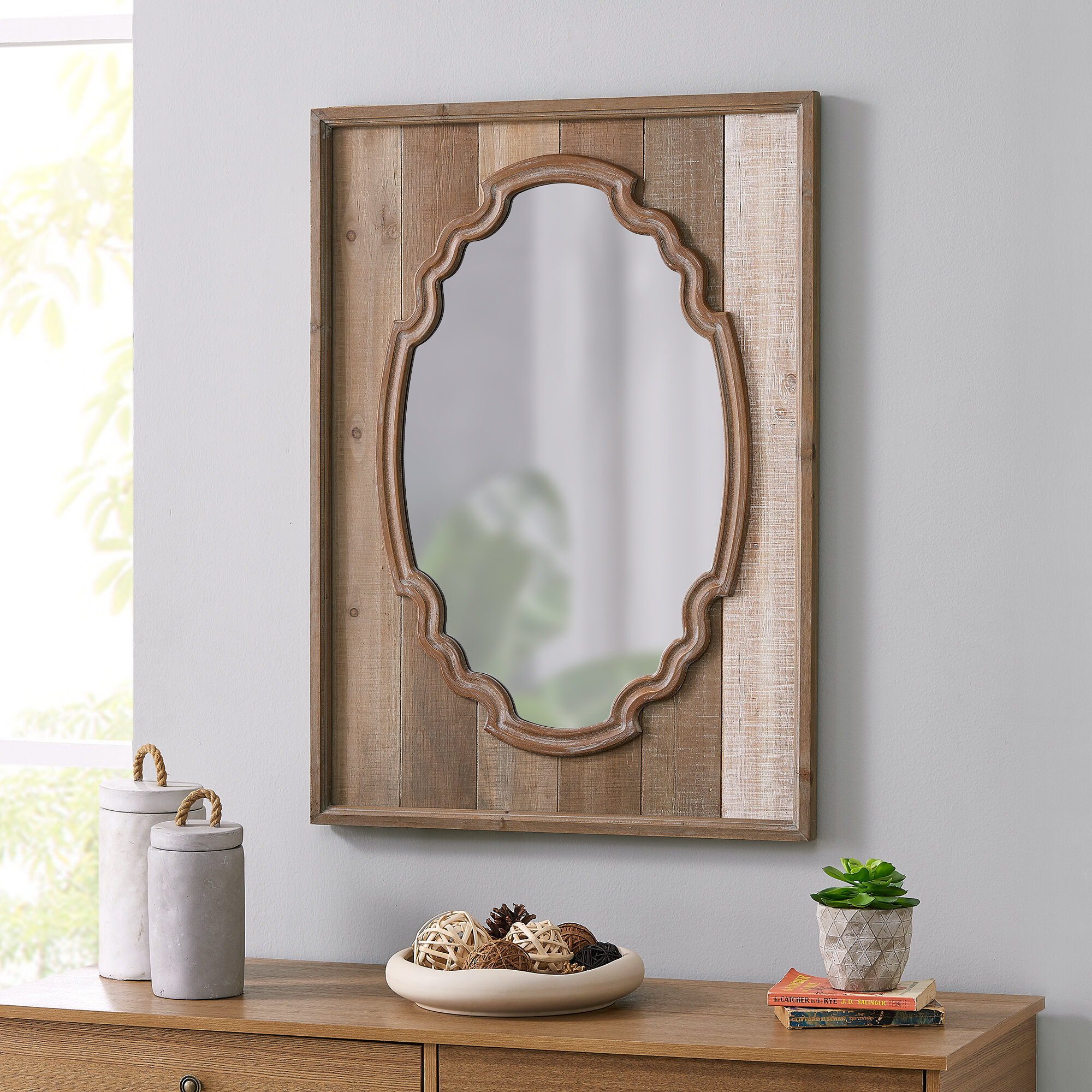 Shabby Elegance Mirror | Wayfair Within Epinal Shabby Elegance Wall Mirrors (View 25 of 30)