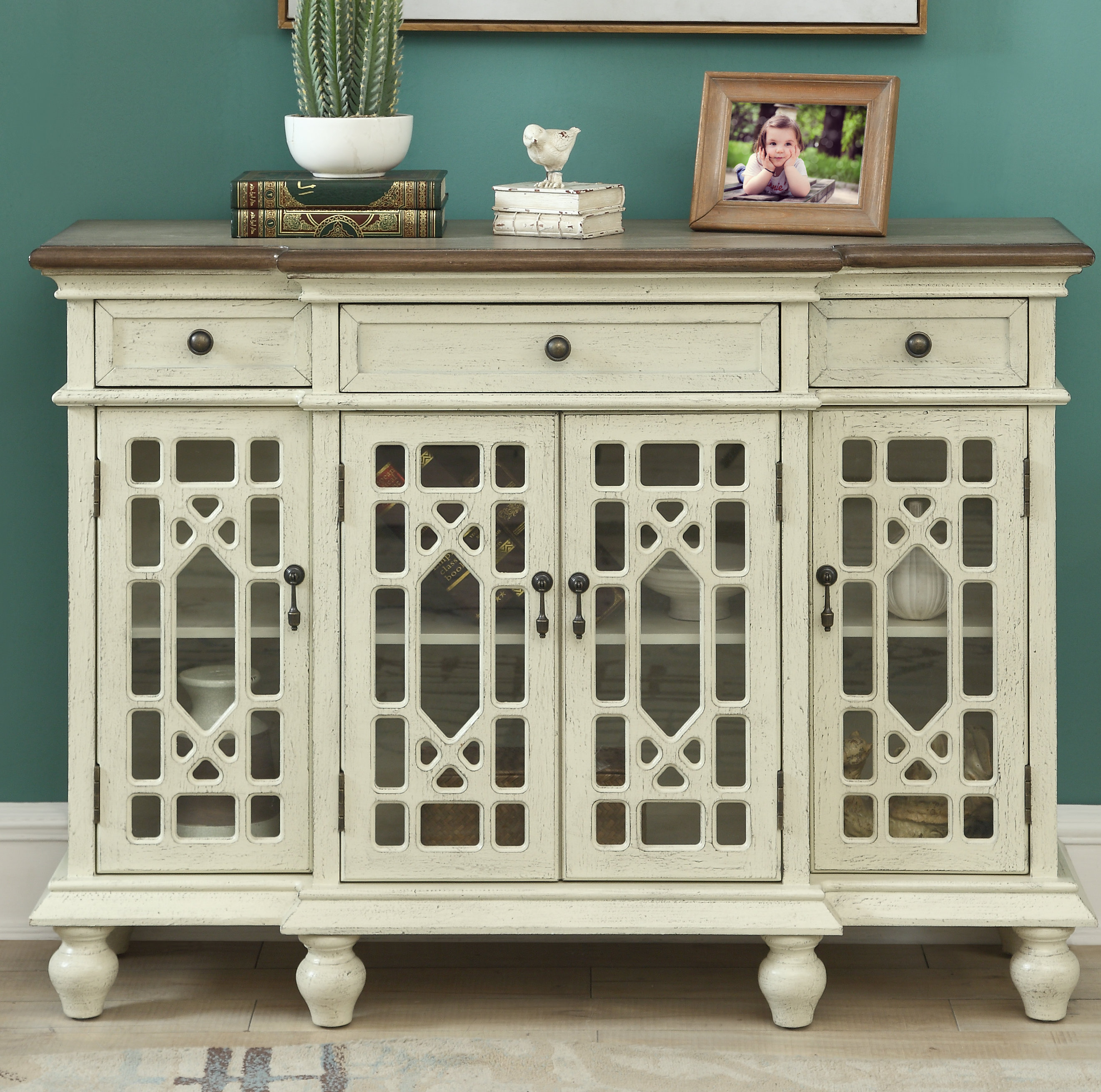 Shallow Credenza | Wayfair for Lainey Credenzas (Image 26 of 30)