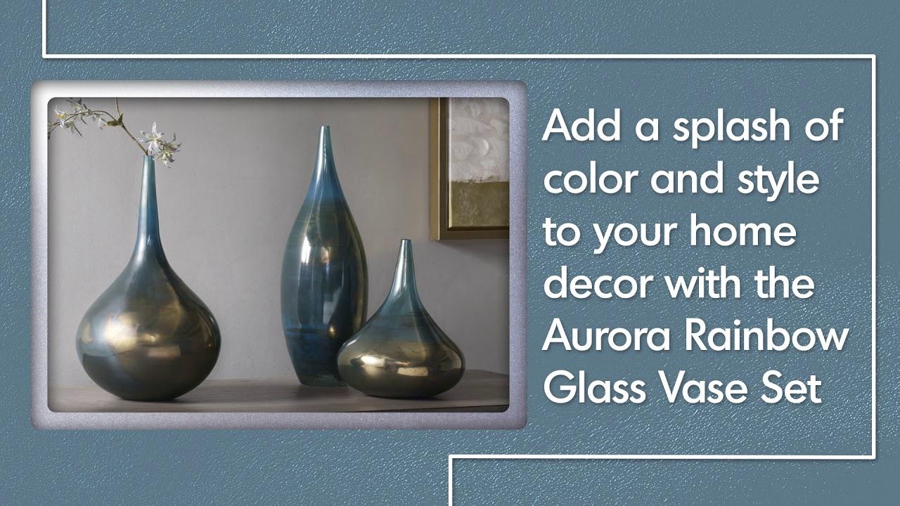 Shop Madison Park Signature Aurora Blue/ Metal Handmade Within Aurora Sun Wall Decor (View 21 of 30)