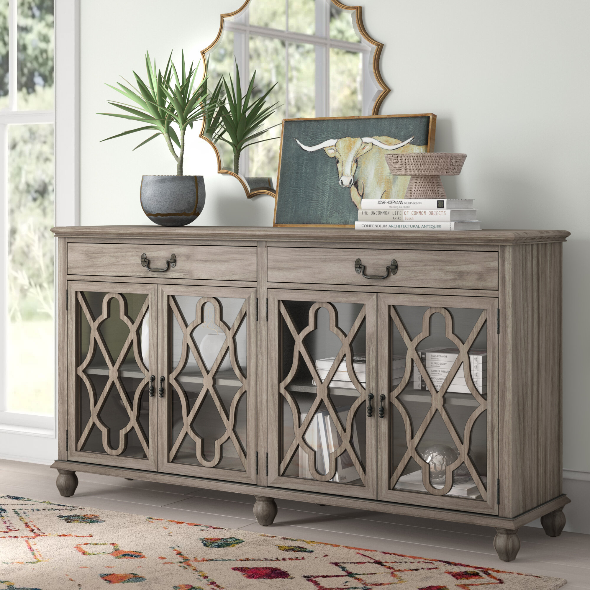 Sideboards & Buffet Tables You'll Love In 2019 | Wayfair throughout Deville Russelle Sideboards (Image 27 of 30)