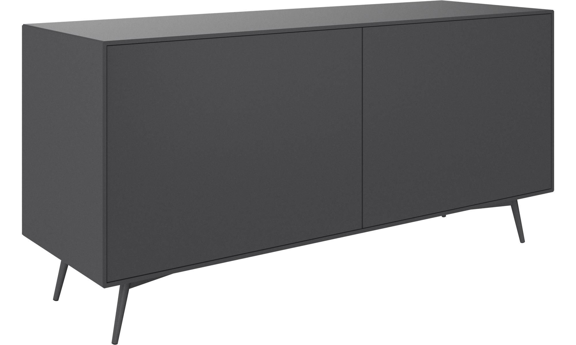 Sideboards – Fermo Sideboard – Grey – Lacquered | Family In Rutherford Sideboards (View 21 of 30)