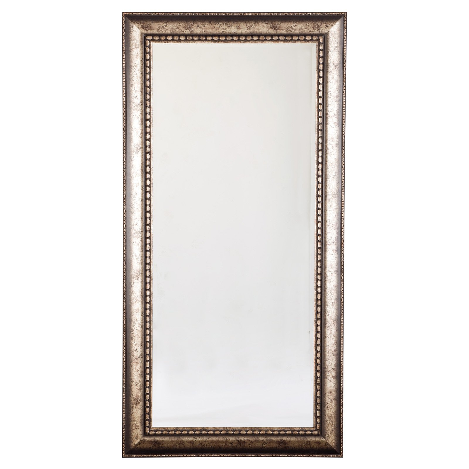 Signature Designashley Dulal Accent Floor Mirror - 36W X 72H In. inside Silver Frame Accent Mirrors (Image 25 of 30)