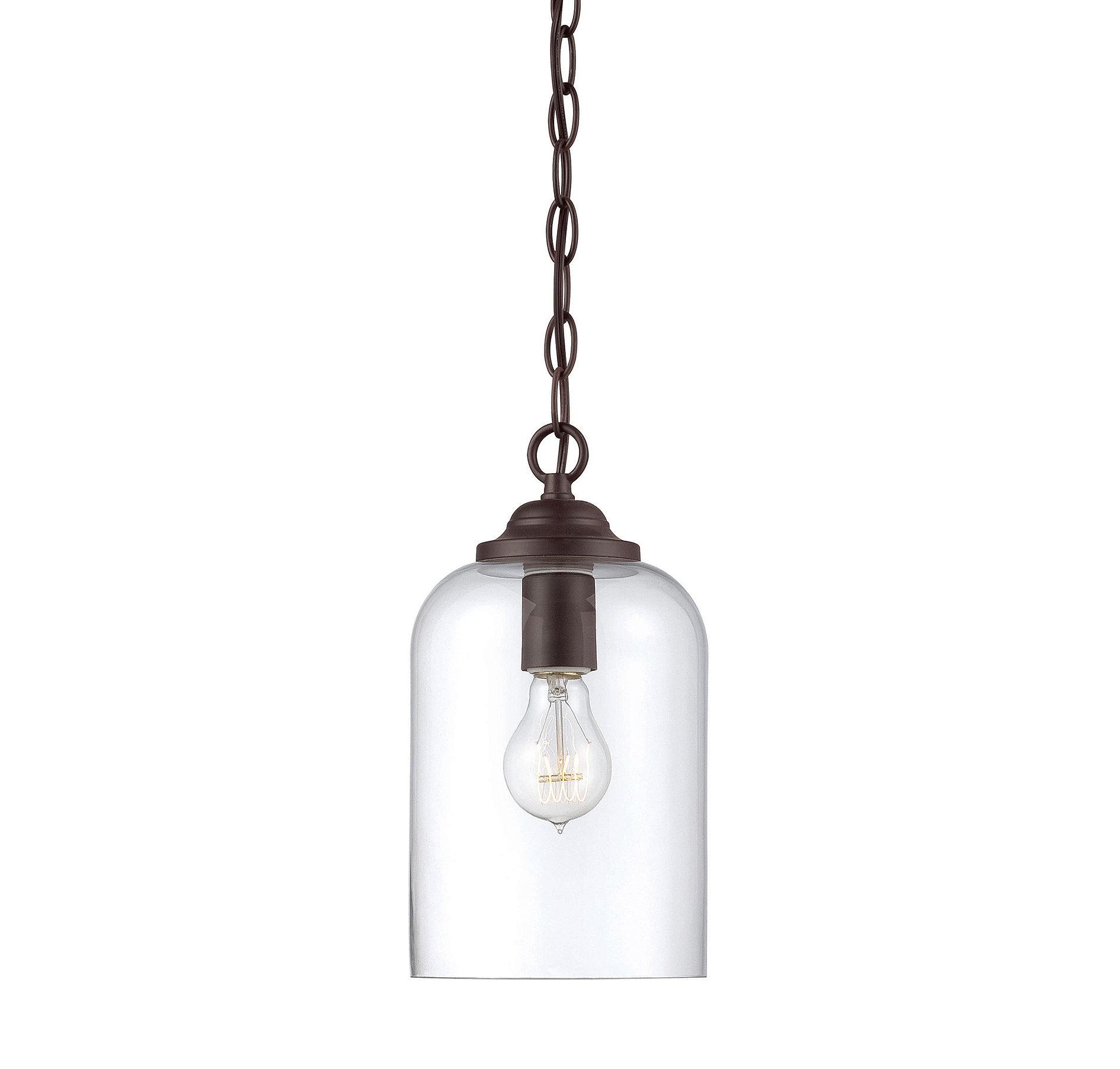 Silber 1 Light Single Bell Pendant For Carey 1 Light Single Bell Pendants (View 27 of 30)