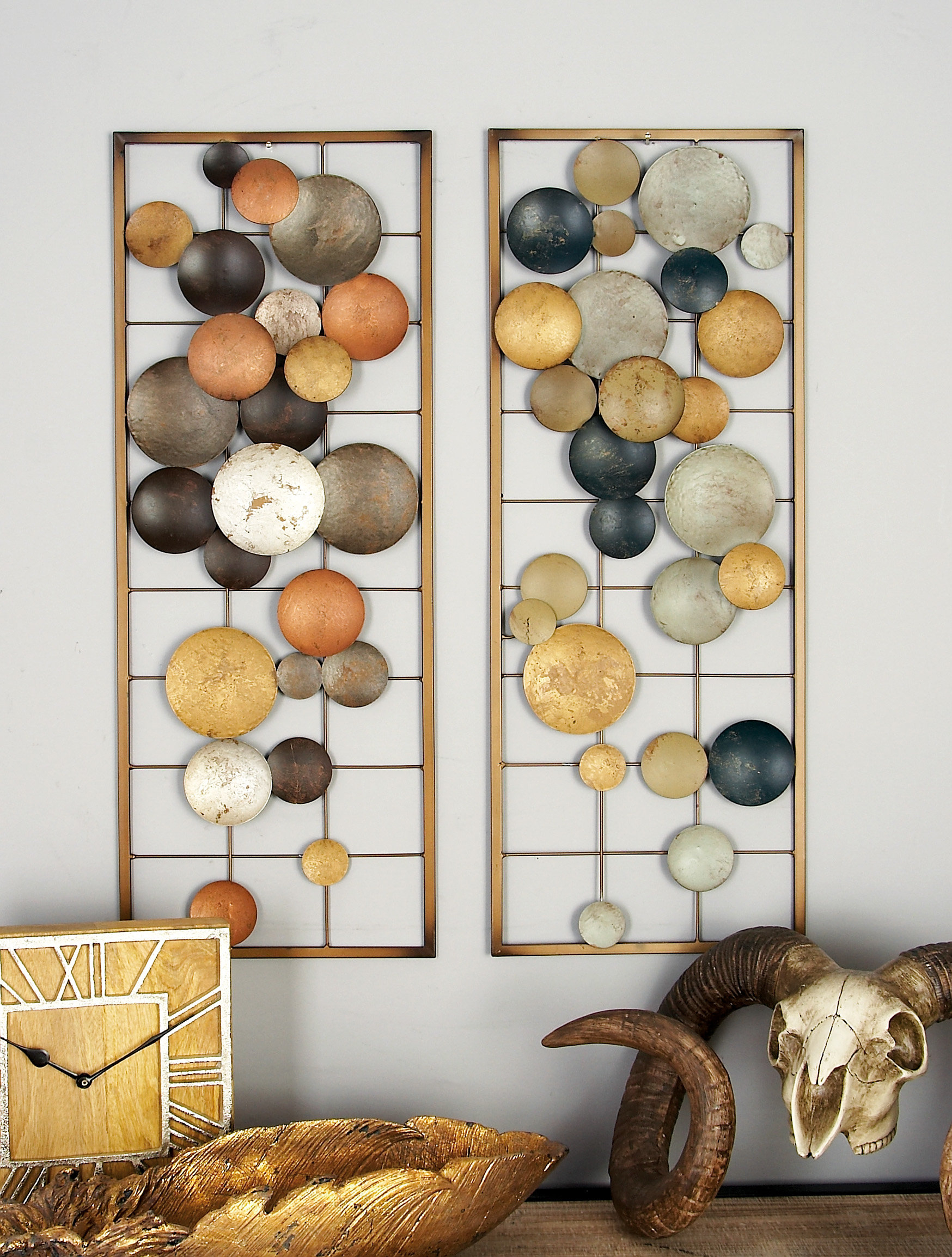 Silver Sunburst Wall Decor | Wayfair in 2 Piece Starburst Wall Decor Sets (Image 26 of 30)