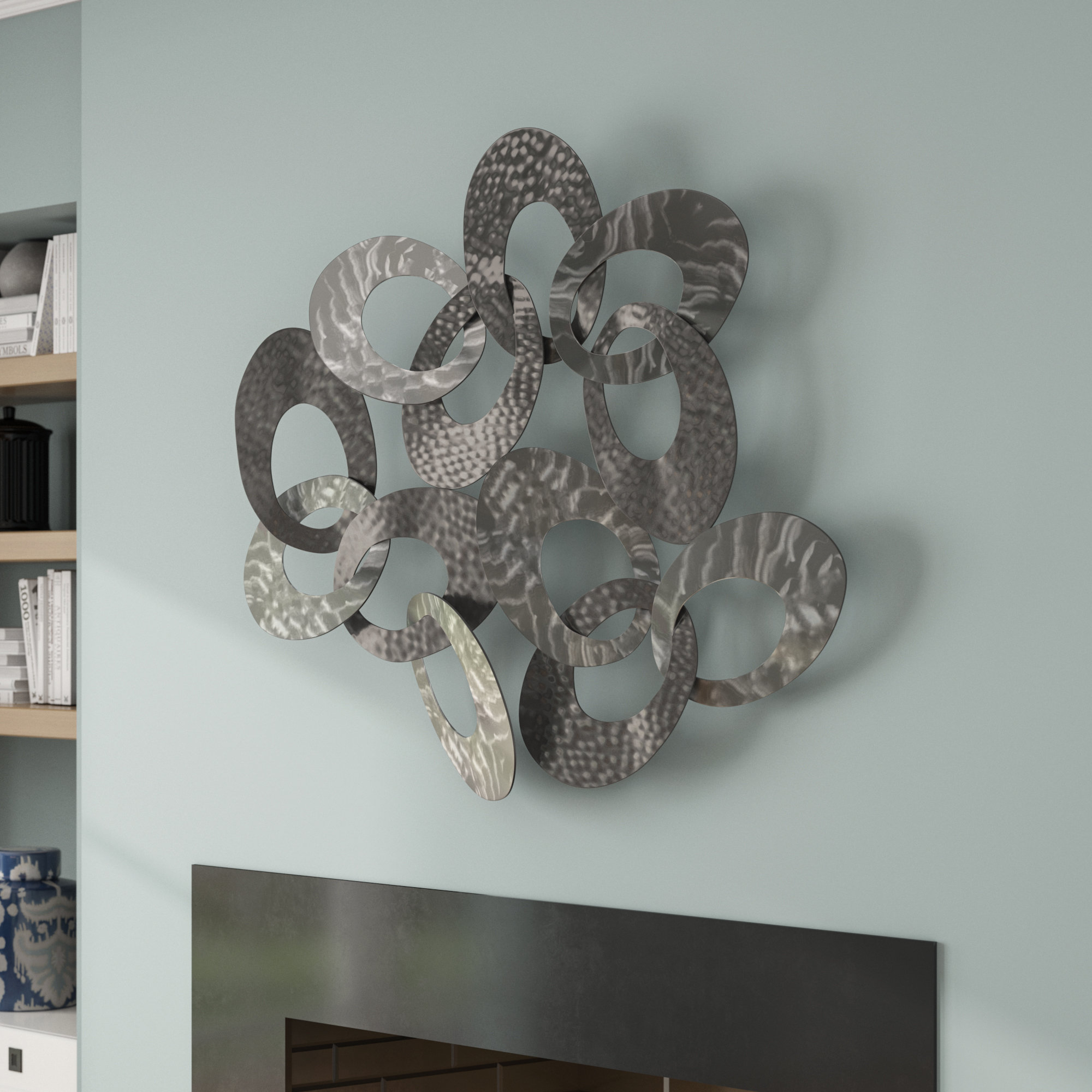 Silver Wall Accents You'll Love In 2019 | Wayfair.ca inside Alvis Traditional Metal Wall Decor (Image 23 of 30)