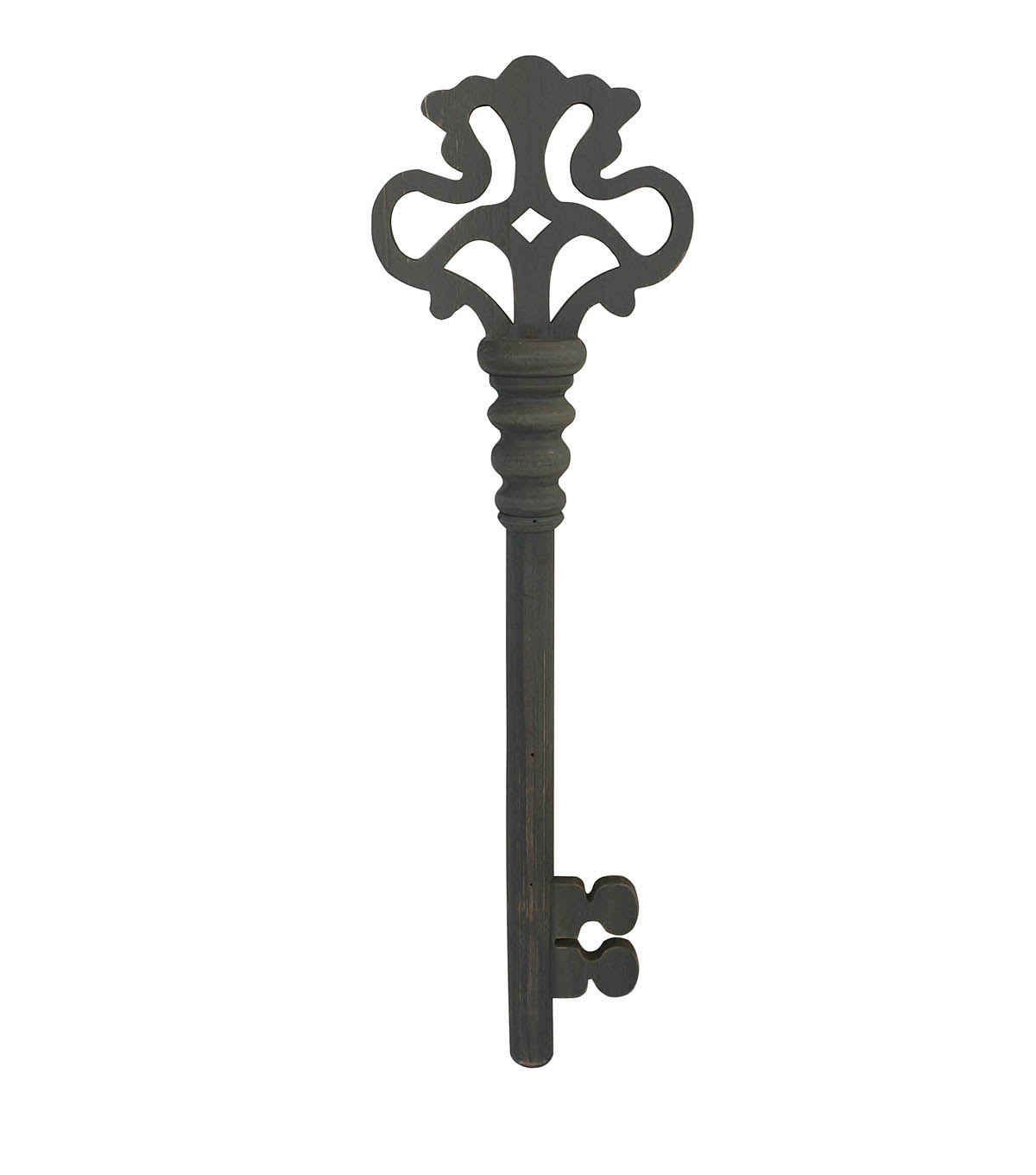 Simply Autumn Wooden Key Wall Decor Gray Inside Black Metal Key Wall Decor (View 23 of 30)