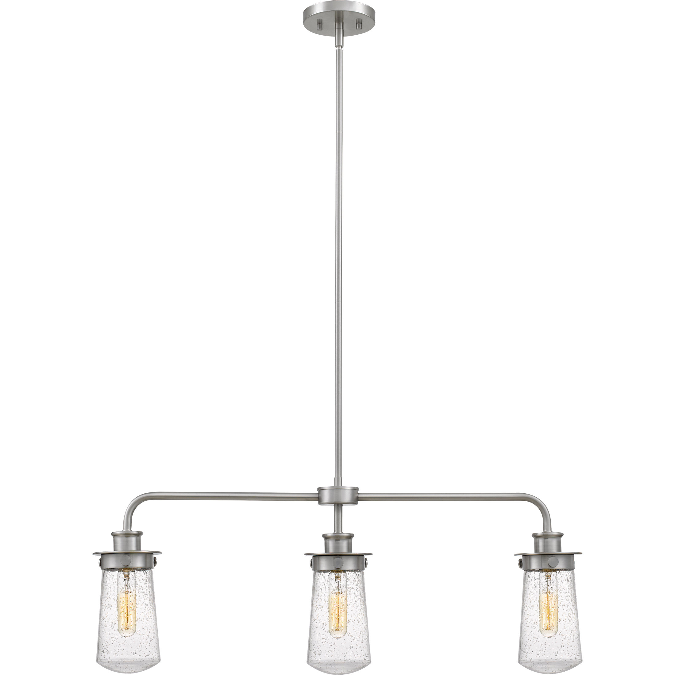 Simsbury 3 Light Kitchen Island Linear Pendant With Cinchring 1 Light Cone Pendants (View 27 of 30)