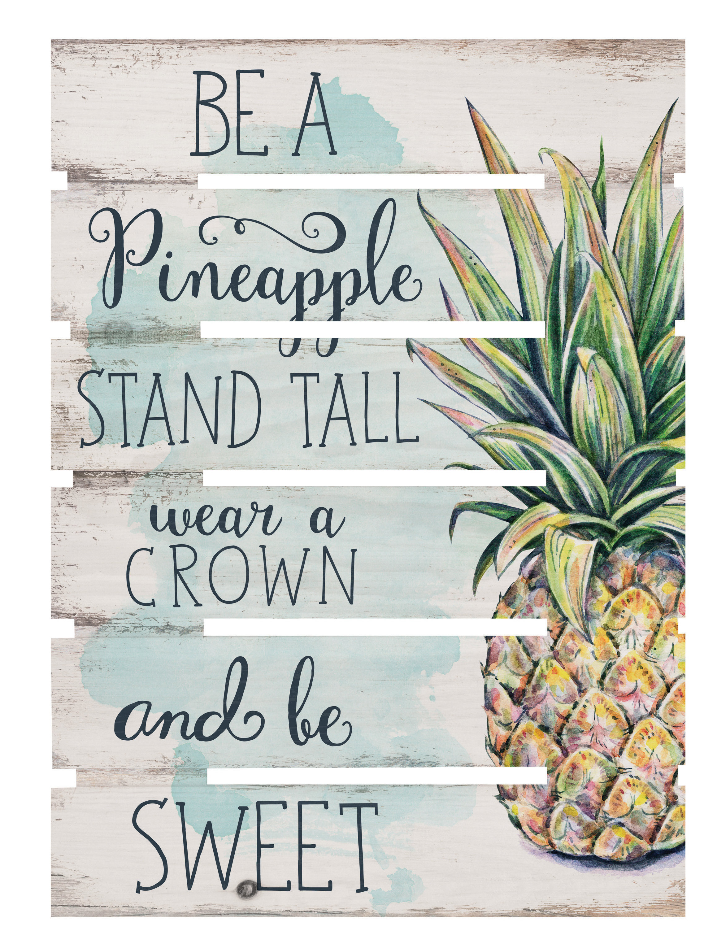 Skid Be A Pineapple Wall Décor With Regard To Pineapple Wall Decor (View 11 of 30)