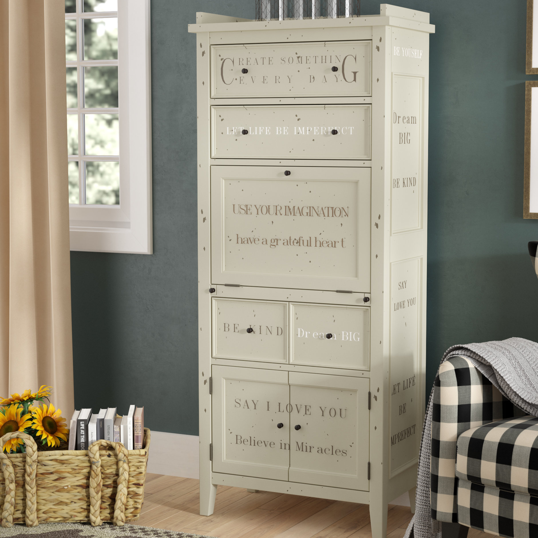 Sliding Blac Whitesburg Mirimyn Wayfair Door Vintage Two in Kara 4 Door Accent Cabinets (Image 27 of 30)