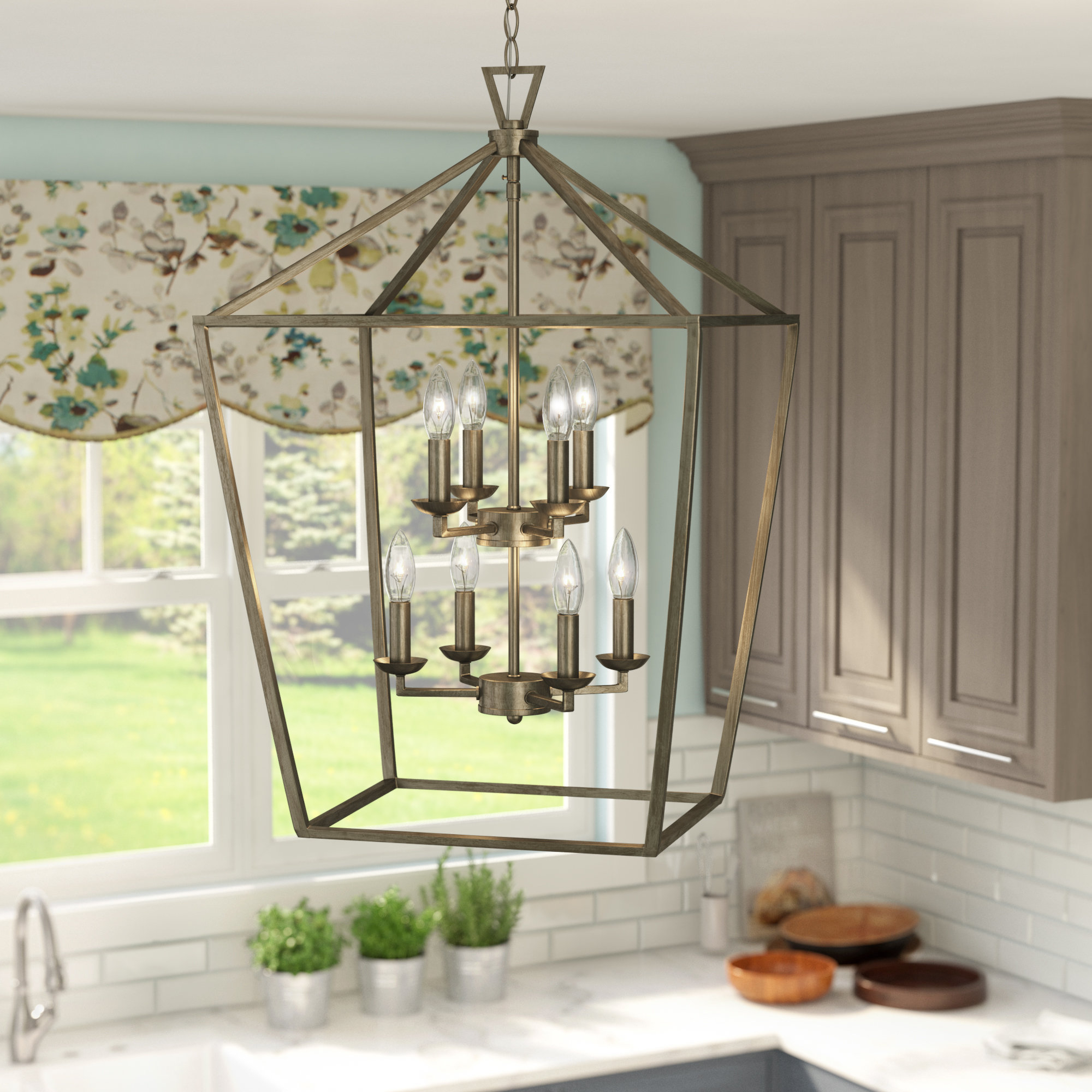 Small Lantern Pendant Light You'll Love In 2019 | Wayfair Throughout Armande 4 Light Lantern Drum Pendants (View 21 of 30)