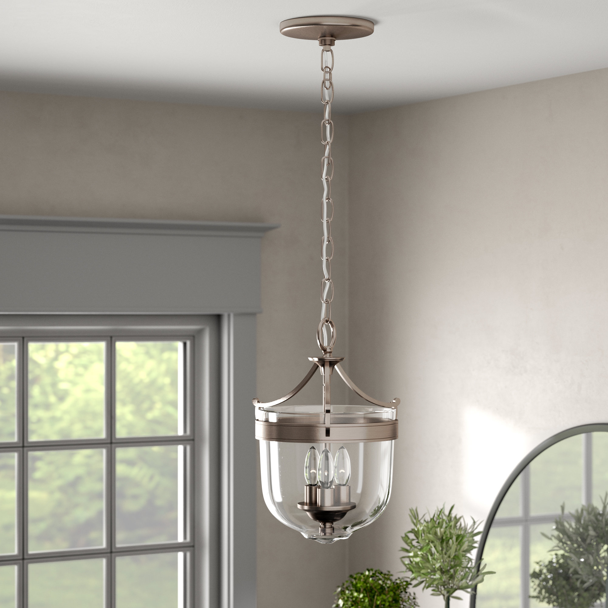 Small Urn Pendant Lighting | Wayfair for Spokane 1-Light Single Urn Pendants (Image 25 of 30)