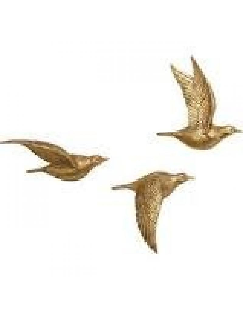 Smart Design Bird Wall Decor Charlton Home 3 Piece Polystone regarding Sign Wall Decor By Charlton Home (Image 27 of 30)
