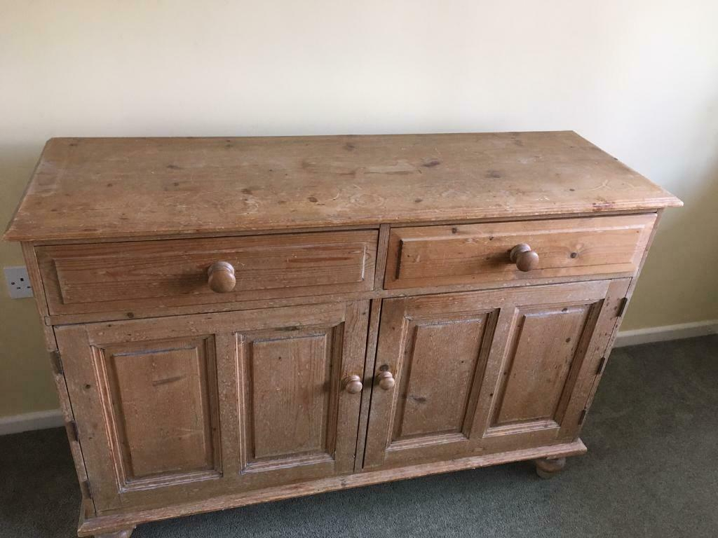 Solid Pine Dresser Or Sideboard £60 | In Ross-On-Wye, Herefordshire |  Gumtree pertaining to Rosson Sideboards (Image 21 of 30)