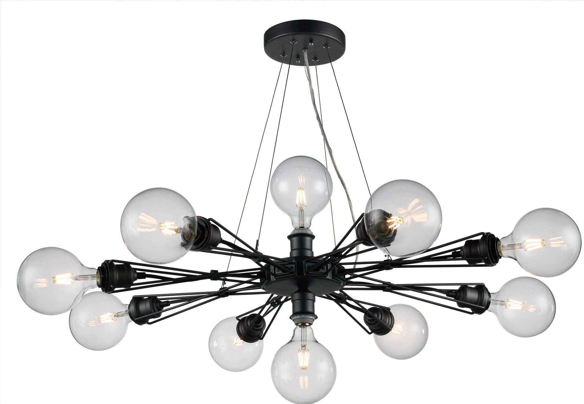 Solon 10 Light Cluster Pendant | Products | Lighting Intended For Bacchus 12 Light Sputnik Chandeliers (View 23 of 30)