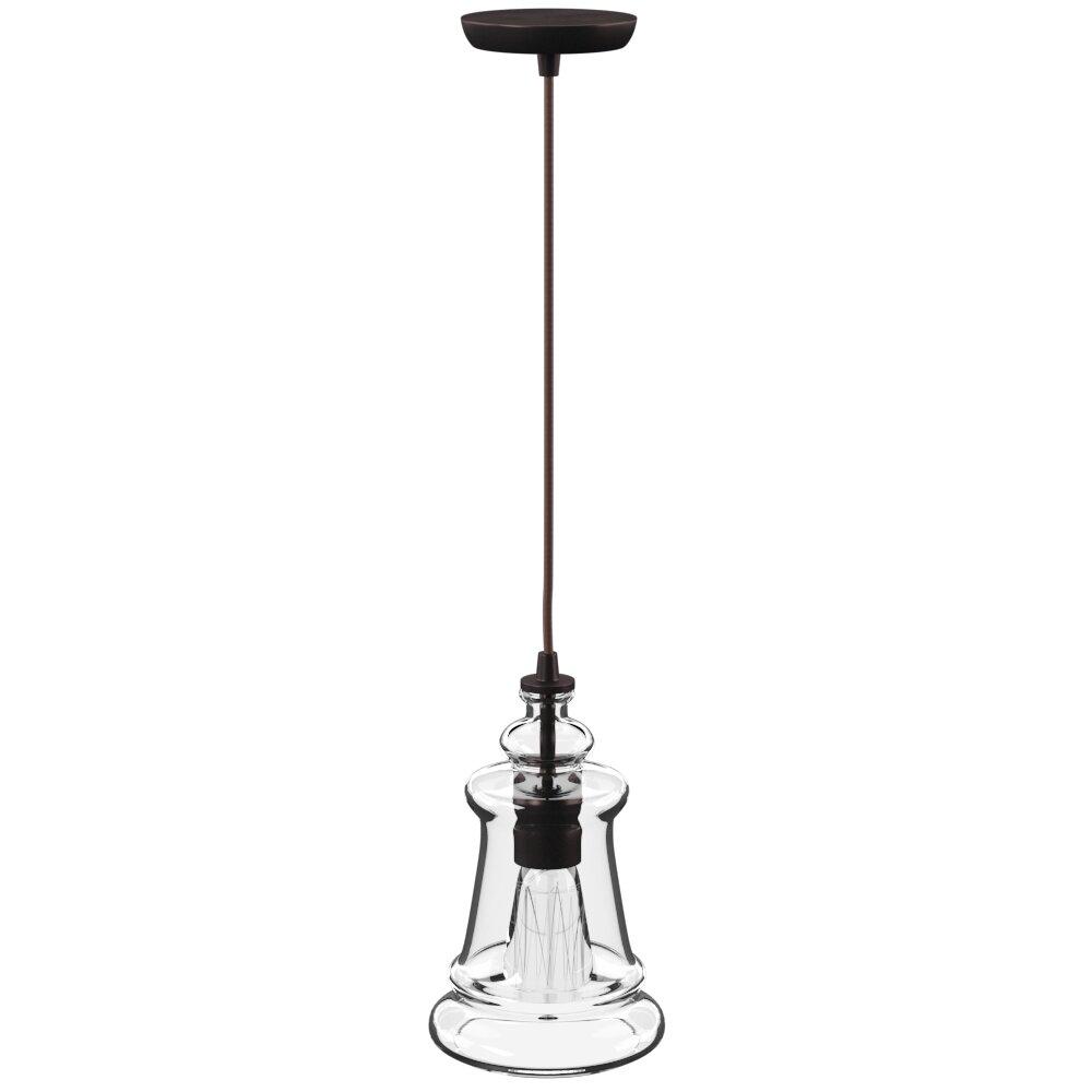 Sorensen 1 Light Single Bell Pendant For 1 Light Single Bell Pendants (View 25 of 30)