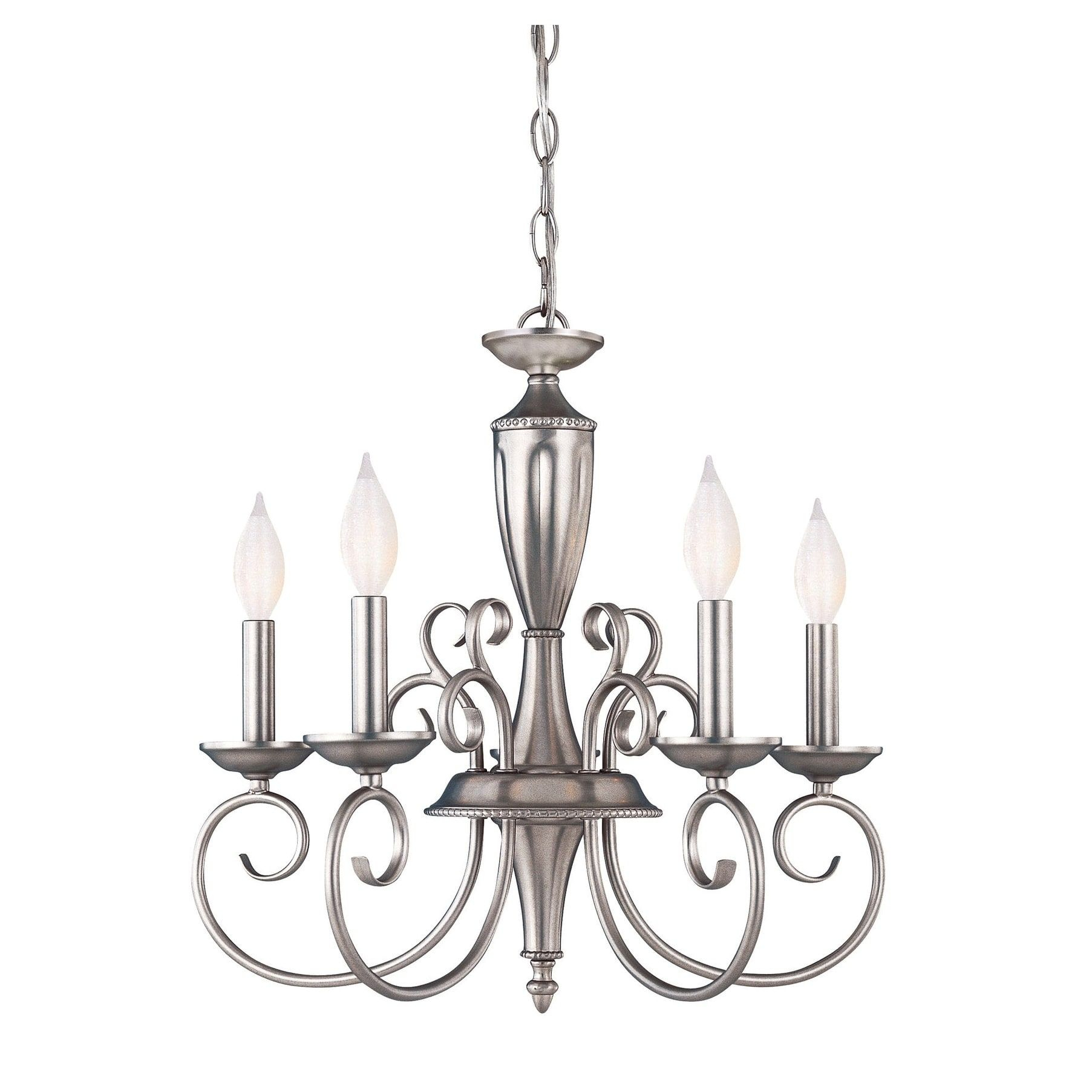 Spirit 5 Light Chandelier Pewter In 2019 | Products | 5 Throughout Berger 5 Light Candle Style Chandeliers (View 7 of 30)