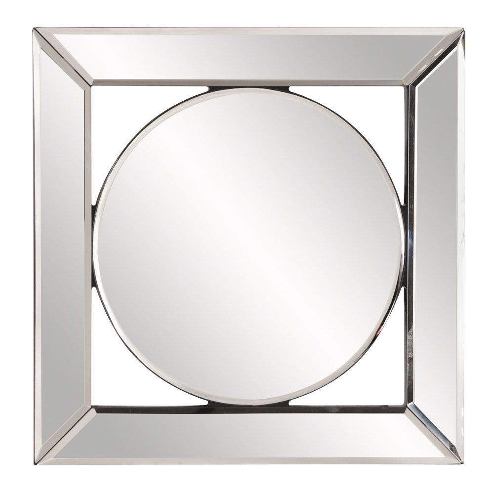 Square Hanging Accent Mirror | Products | Mirror With Maude Accent Mirrors (View 11 of 30)
