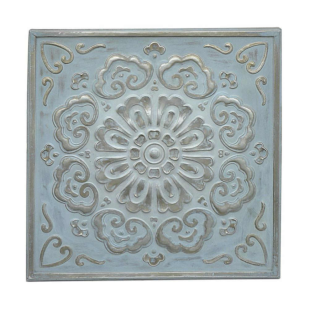 Square Medallion Wall Art with European Medallion Wall Decor (Image 24 of 30)