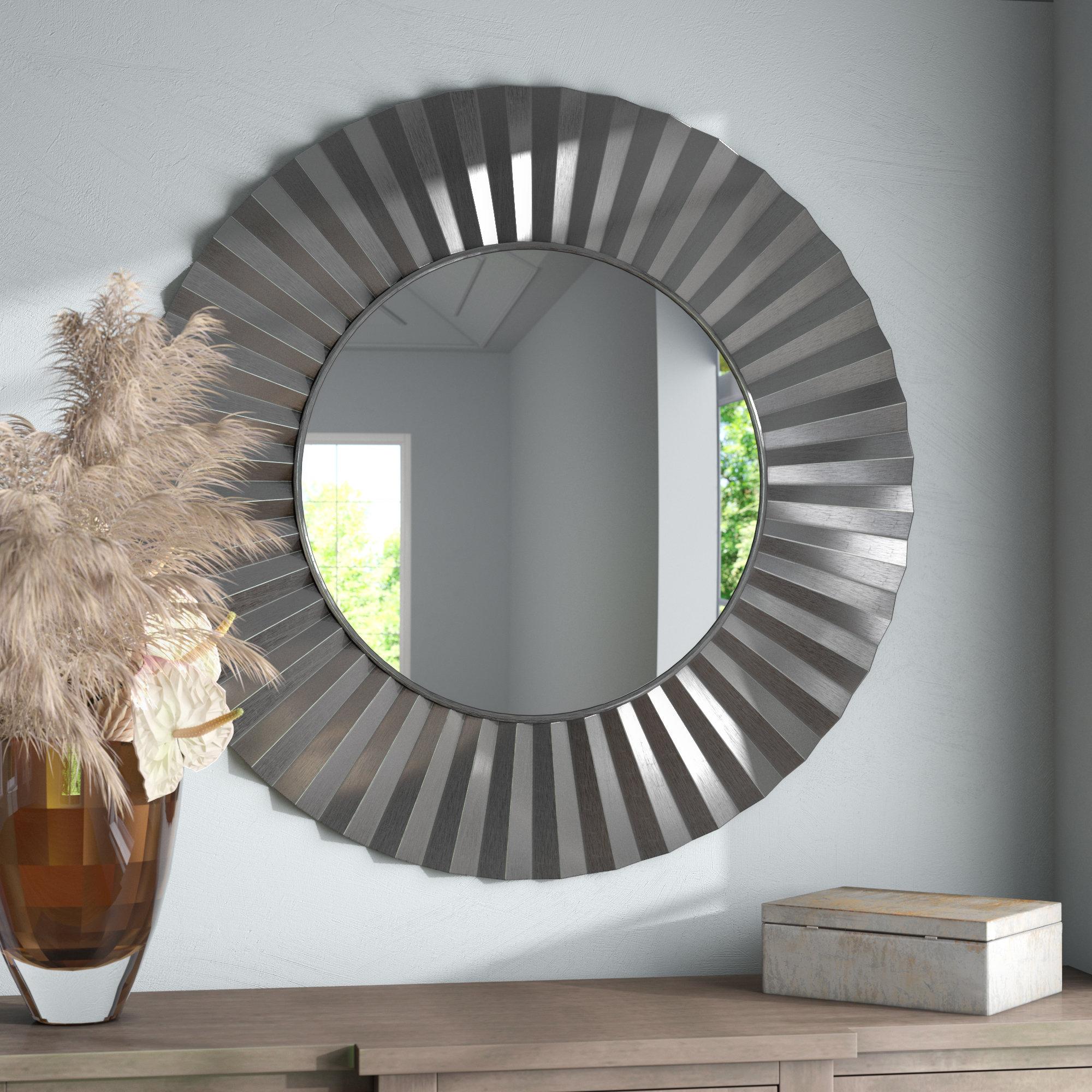 Star Burst Mirror | Wayfair Throughout Deniece Sunburst Round Wall Mirrors (View 21 of 30)