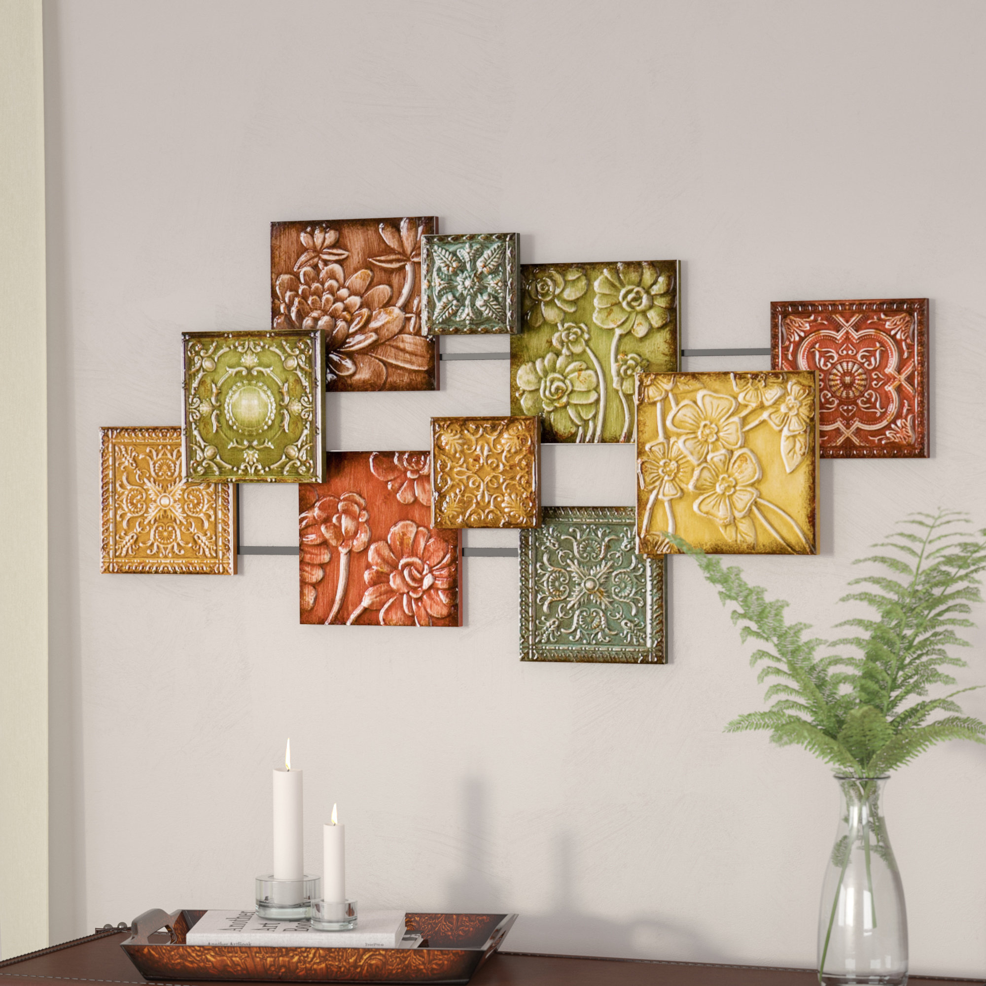 Starburst Wall Decor | Wayfair With Abstract Bar And Panel Wall Decor (Image 23 of 30)