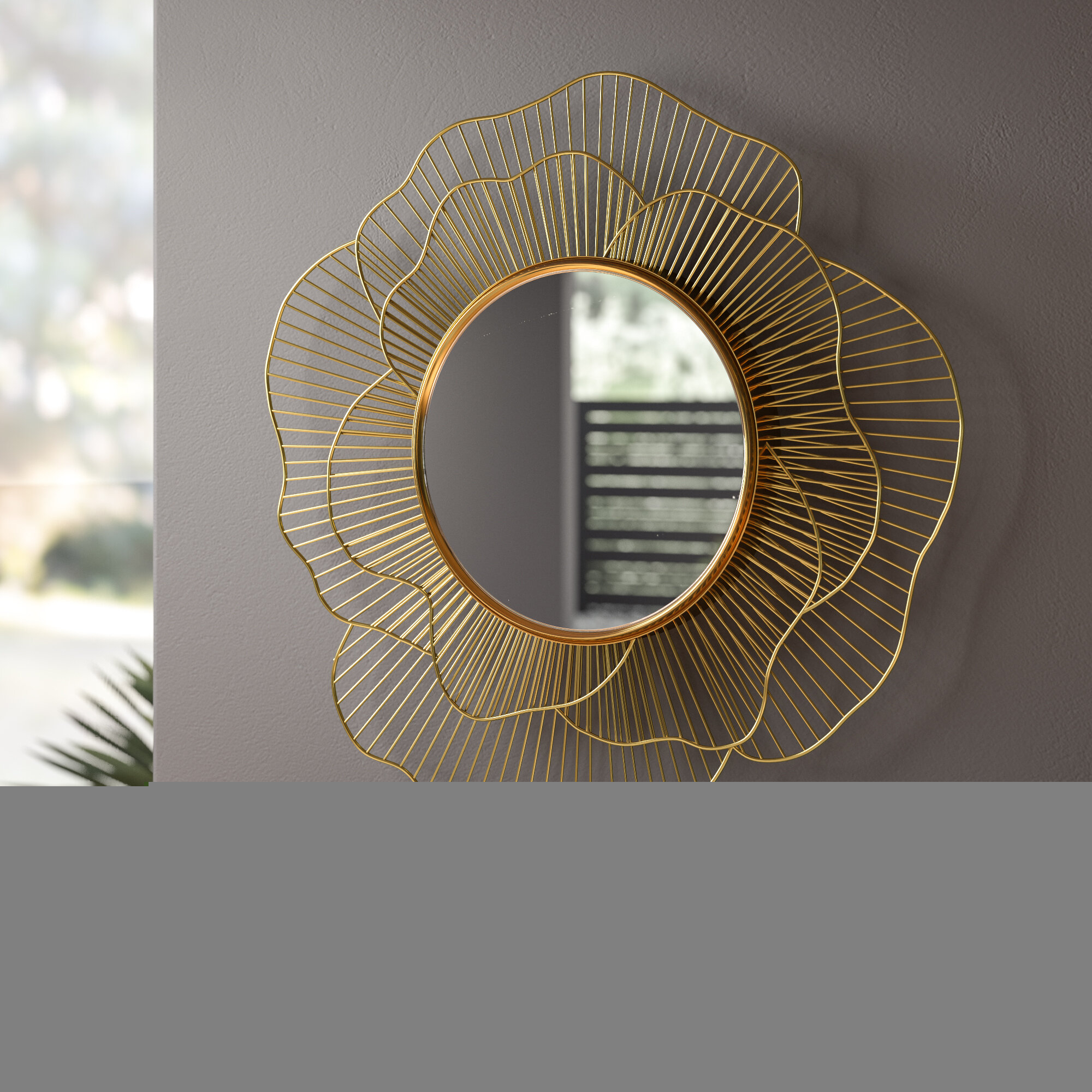 Stella Wall Mirror Pertaining To Jarrod Sunburst Accent Mirrors (View 23 of 30)