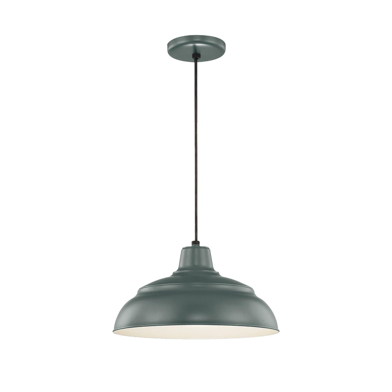 Stetson 1-Light Bowl Pendant in Stetson 1-Light Bowl Pendants (Image 23 of 30)