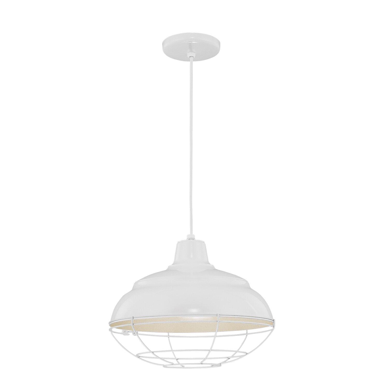 Stetson 1-Light Bowl Pendant throughout Southlake 1-Light Single Dome Pendants (Image 30 of 30)