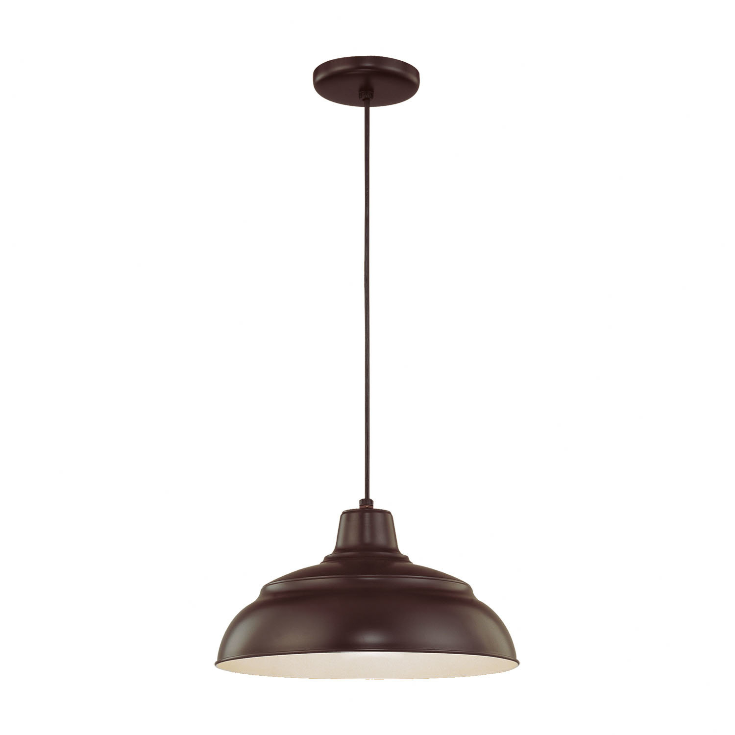 Stetson 1-Light Bowl Pendant with Conover 1-Light Dome Pendants (Image 28 of 30)