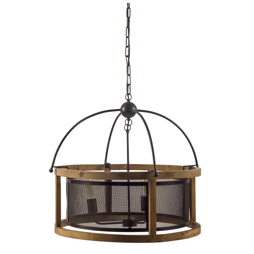 Stidham 3 Light Lantern Drum Pendant Pertaining To Farrier 3 Light Lantern Drum Pendants (View 8 of 30)