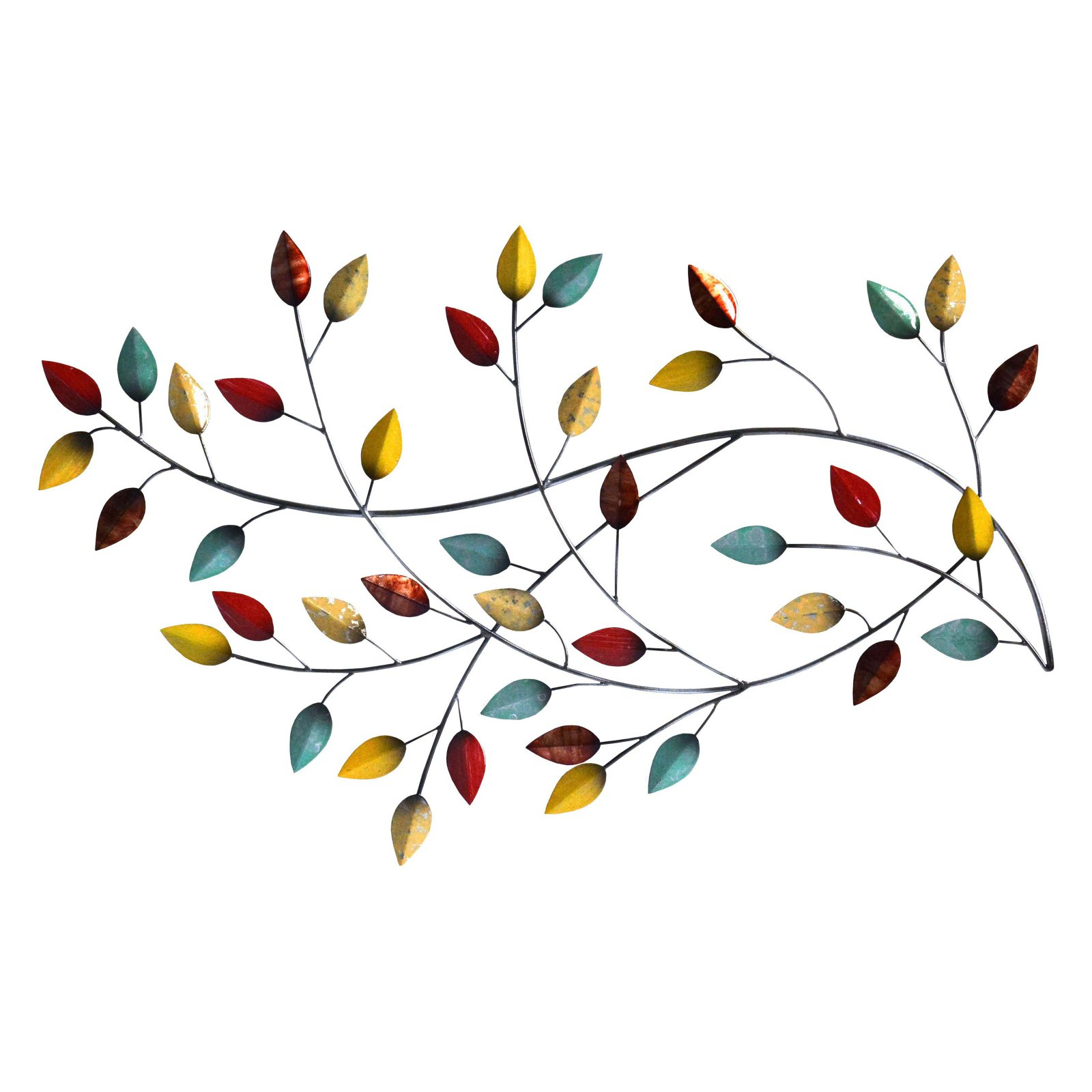 Stratton Home Decor Autumn Blowing Leaves Wall Decor In Blowing Leaves Wall Decor (View 14 of 30)