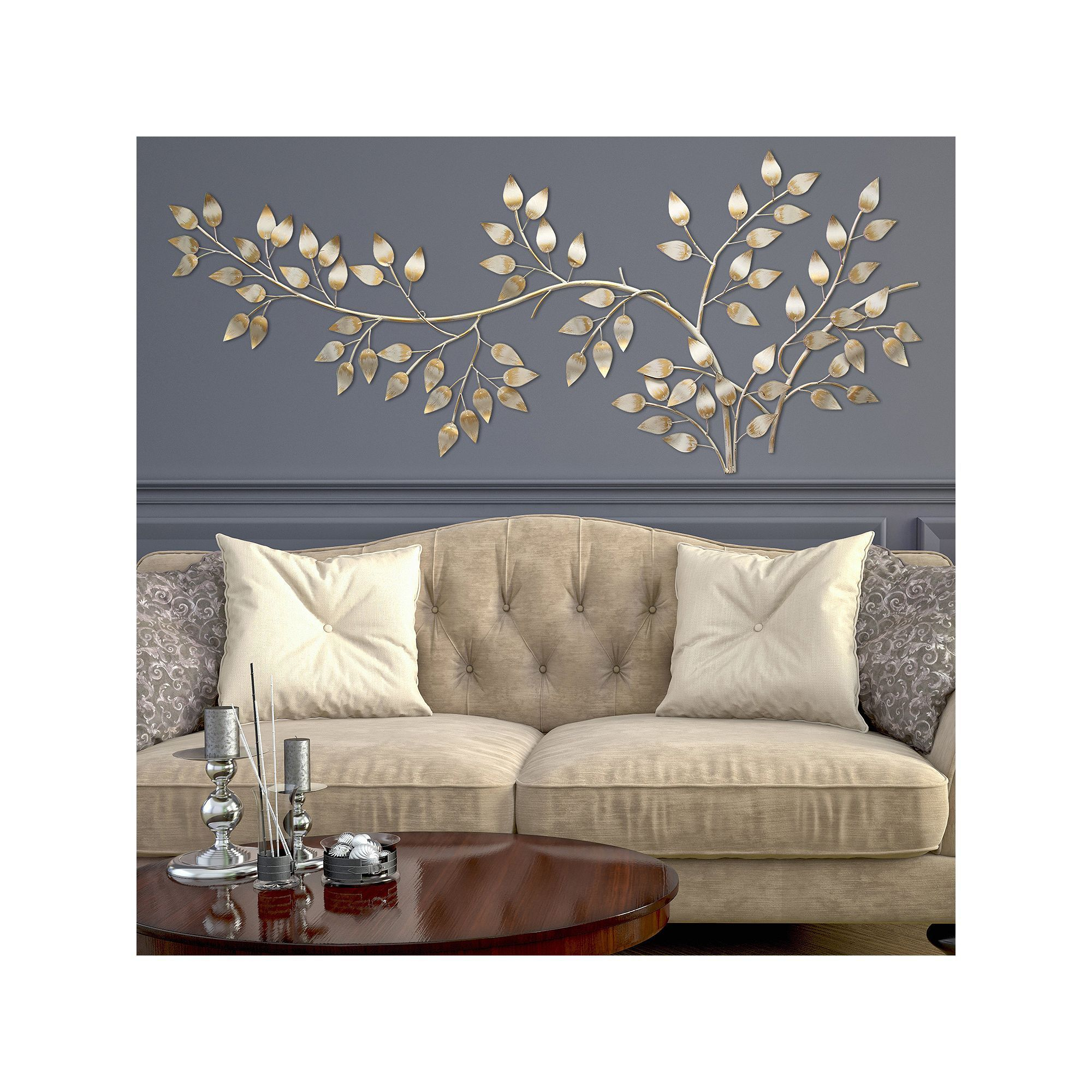Stratton Home Decor Flowing Leaves Metal Wall Decor In 2019 pertaining to Flowing Leaves Wall Decor (Image 26 of 30)