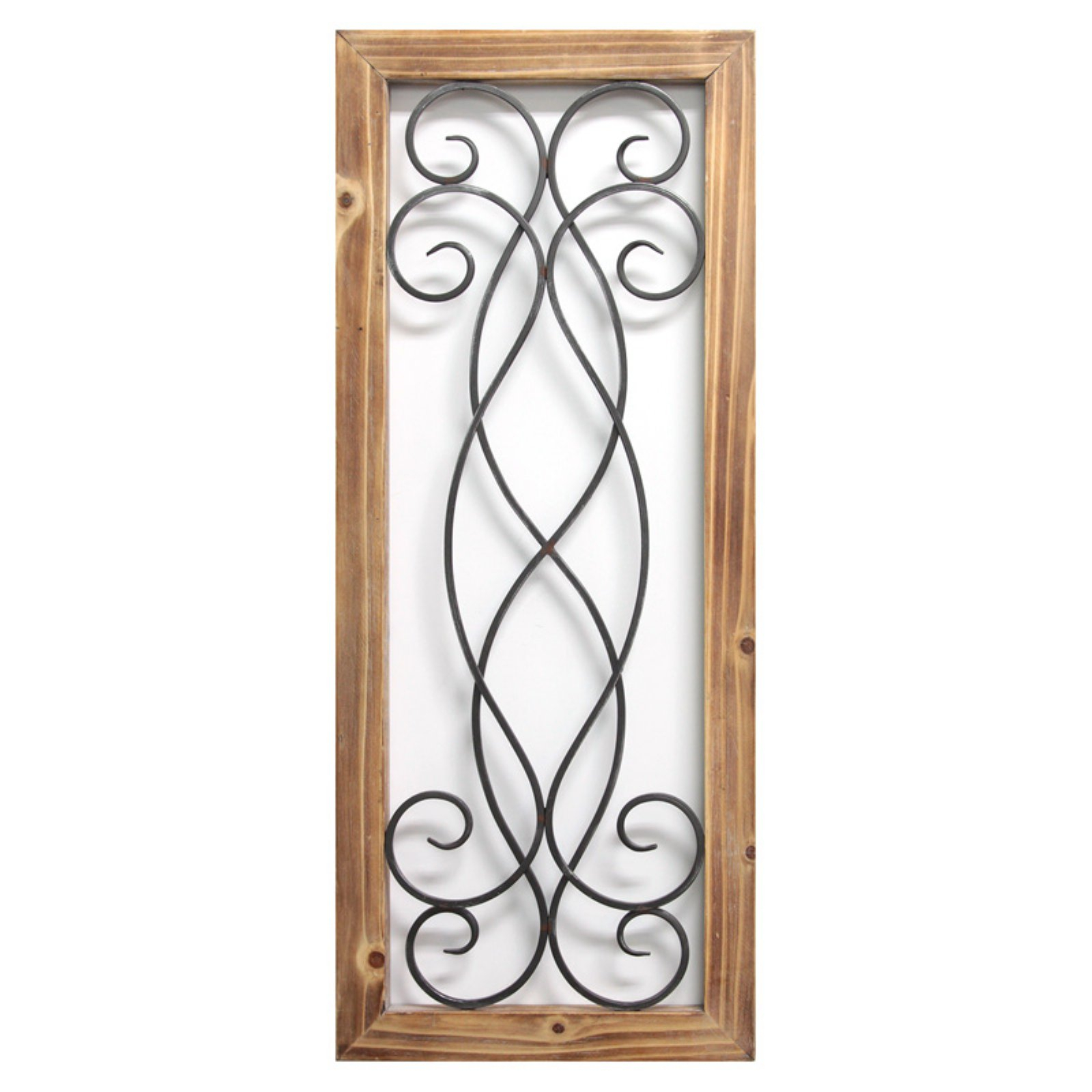 Featured Photo of Scroll Panel Wall Decor