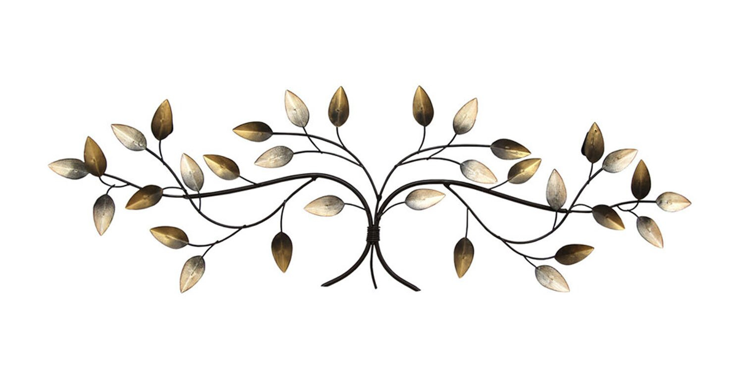 Stratton Home Decor Over The Door Blowing Leaves Wall Decor in Blowing Leaves Wall Decor (Image 21 of 30)