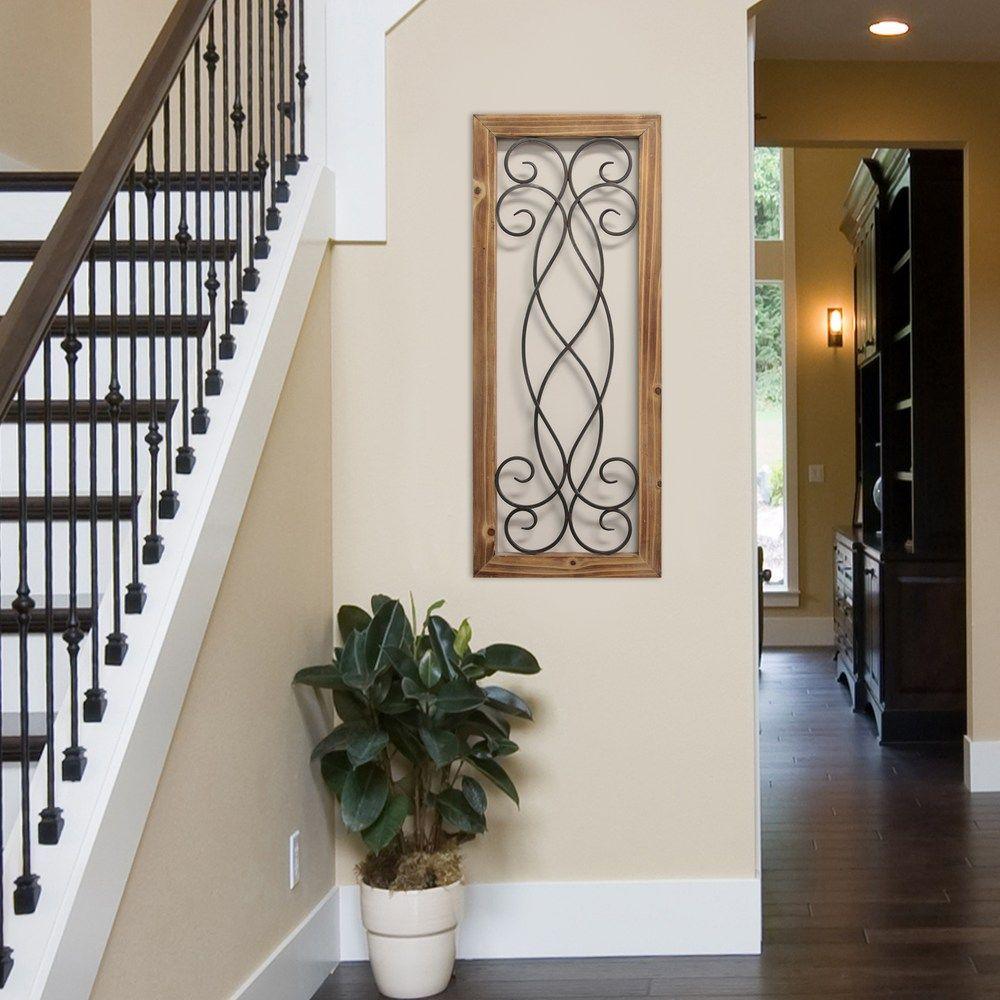 Stratton Home Decor Scroll Panel Wall Decor, Grey In 2019 For Scroll Panel Wall Decor (View 5 of 30)