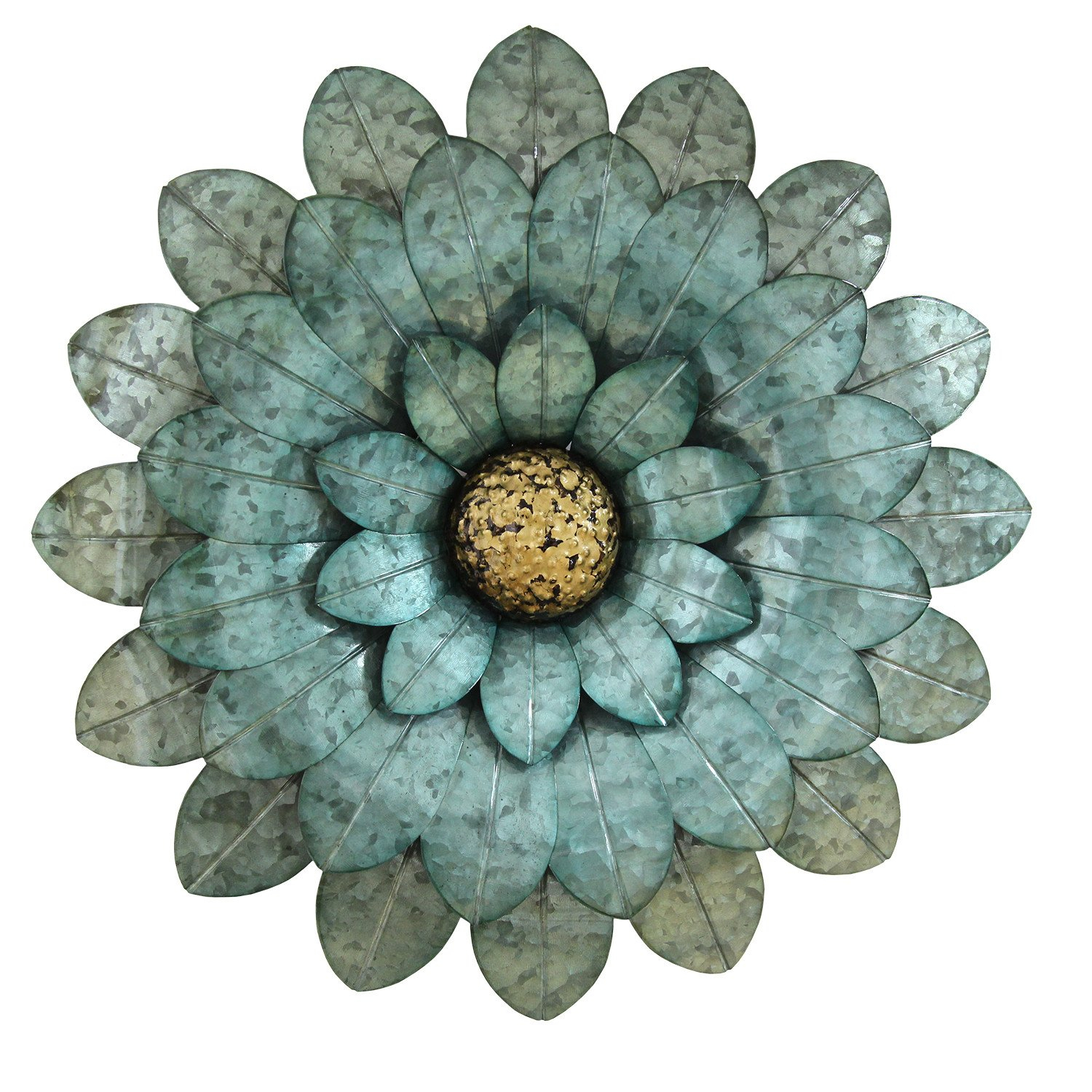 Stratton Home Décor Stratton Home Morning Glory Flower Wall Decor Pertaining To Brushed Pearl Over The Door Wall Decor (View 24 of 30)