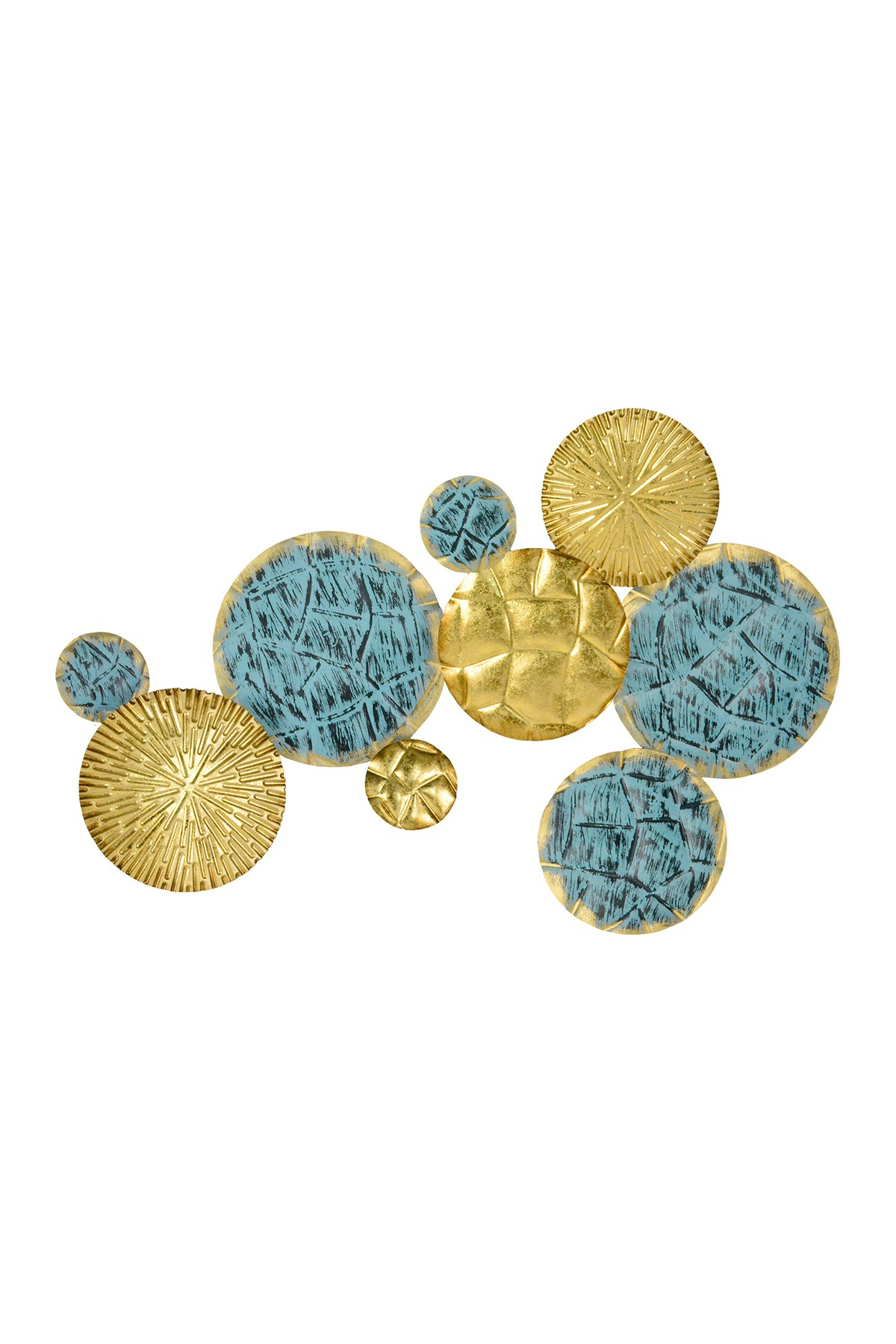 Stratton Home | Multi Jewels Of The Sea Metal Plates Wall Decor | Nordstrom  Rack for Multi Plates Wall Decor (Image 28 of 30)
