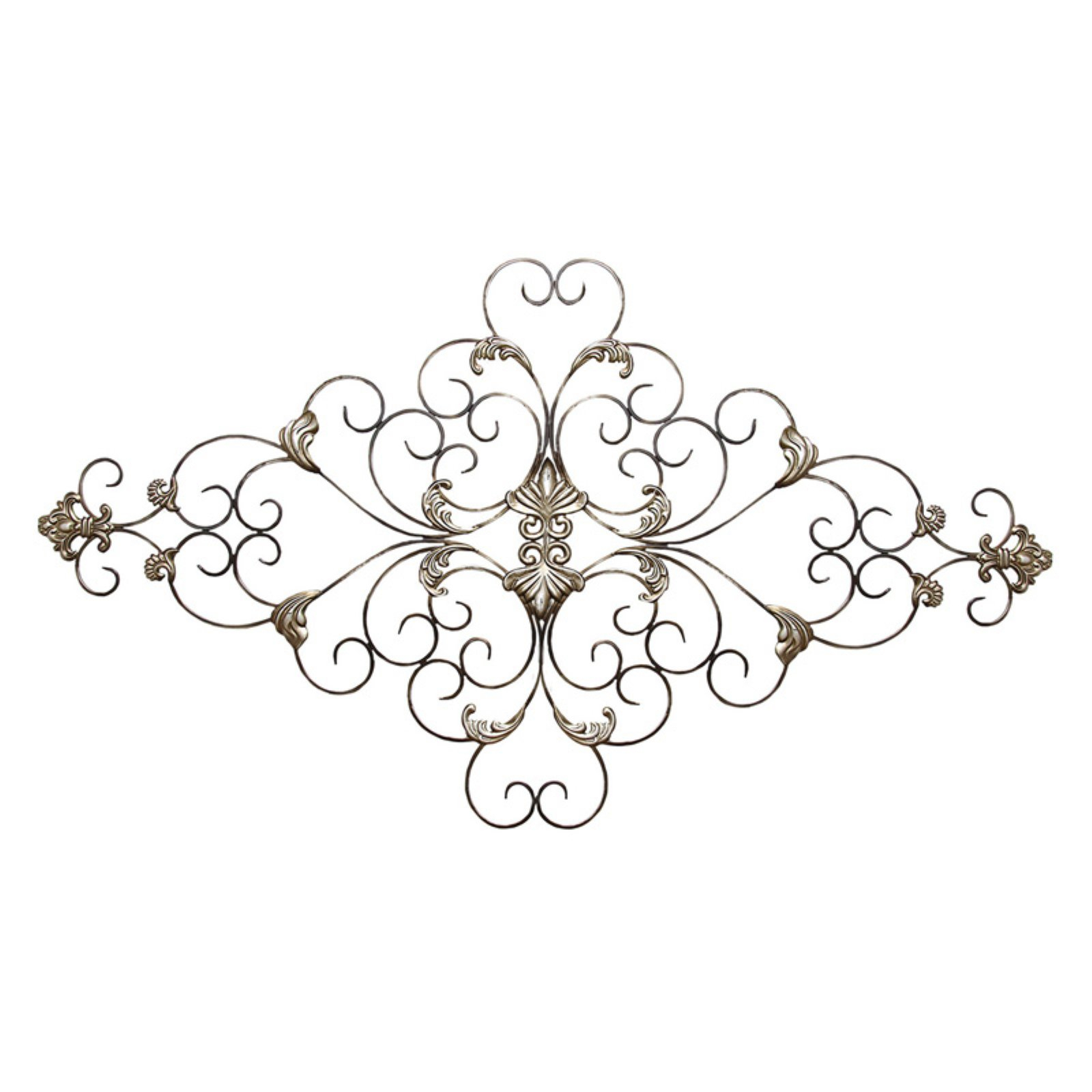 Stratton Home Ornate Scroll Wall Sculpture | Products In pertaining to Ornate Scroll Wall Decor (Image 23 of 30)