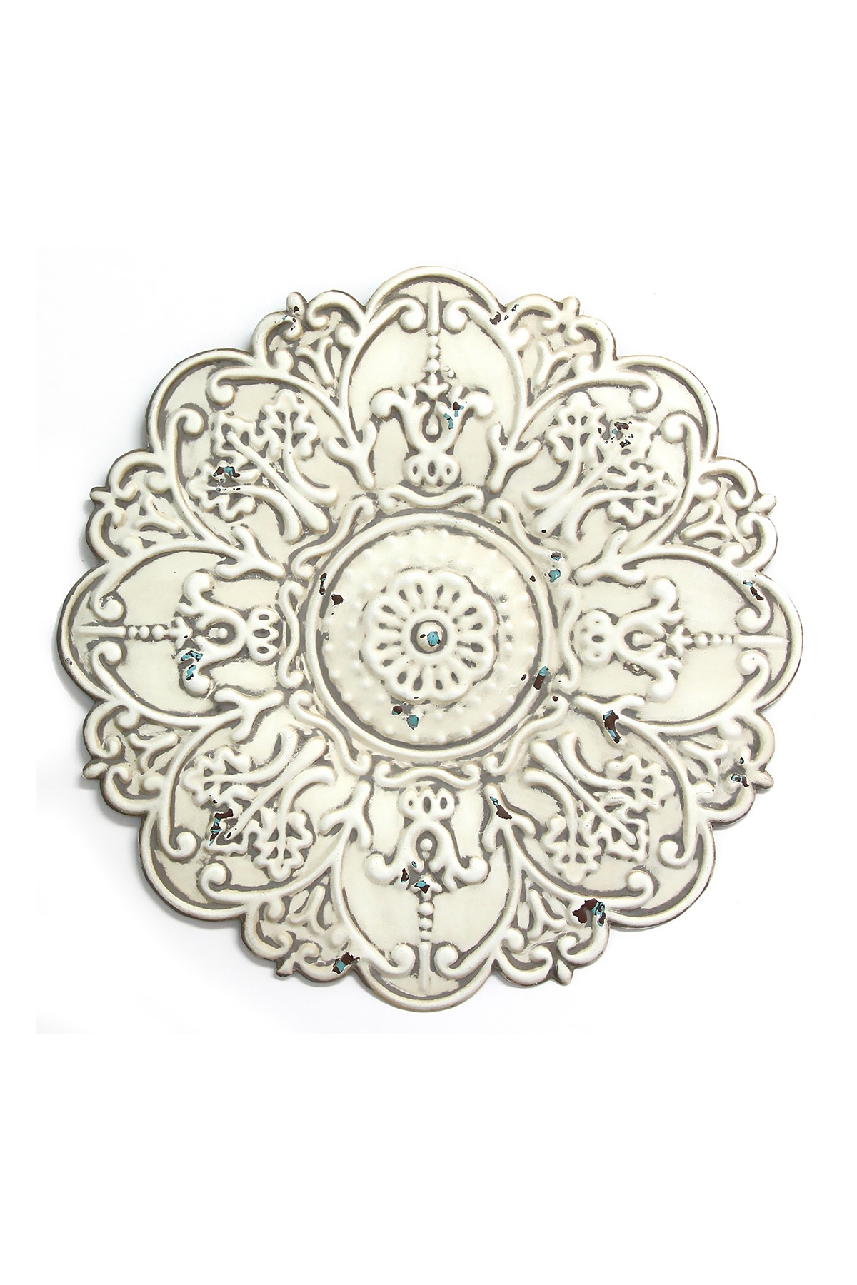 Stratton Home | White Small White Medallion Wall Decor | Nordstrom Rack throughout Small Medallion Wall Decor (Image 24 of 30)